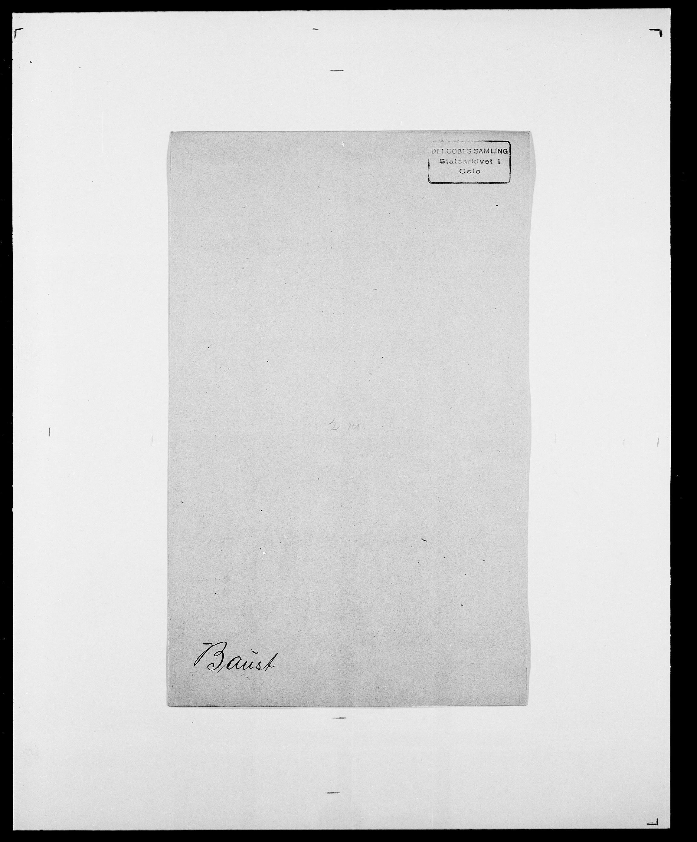 SAO, Delgobe, Charles Antoine - samling, D/Da/L0003: Barca - Bergen, s. 464