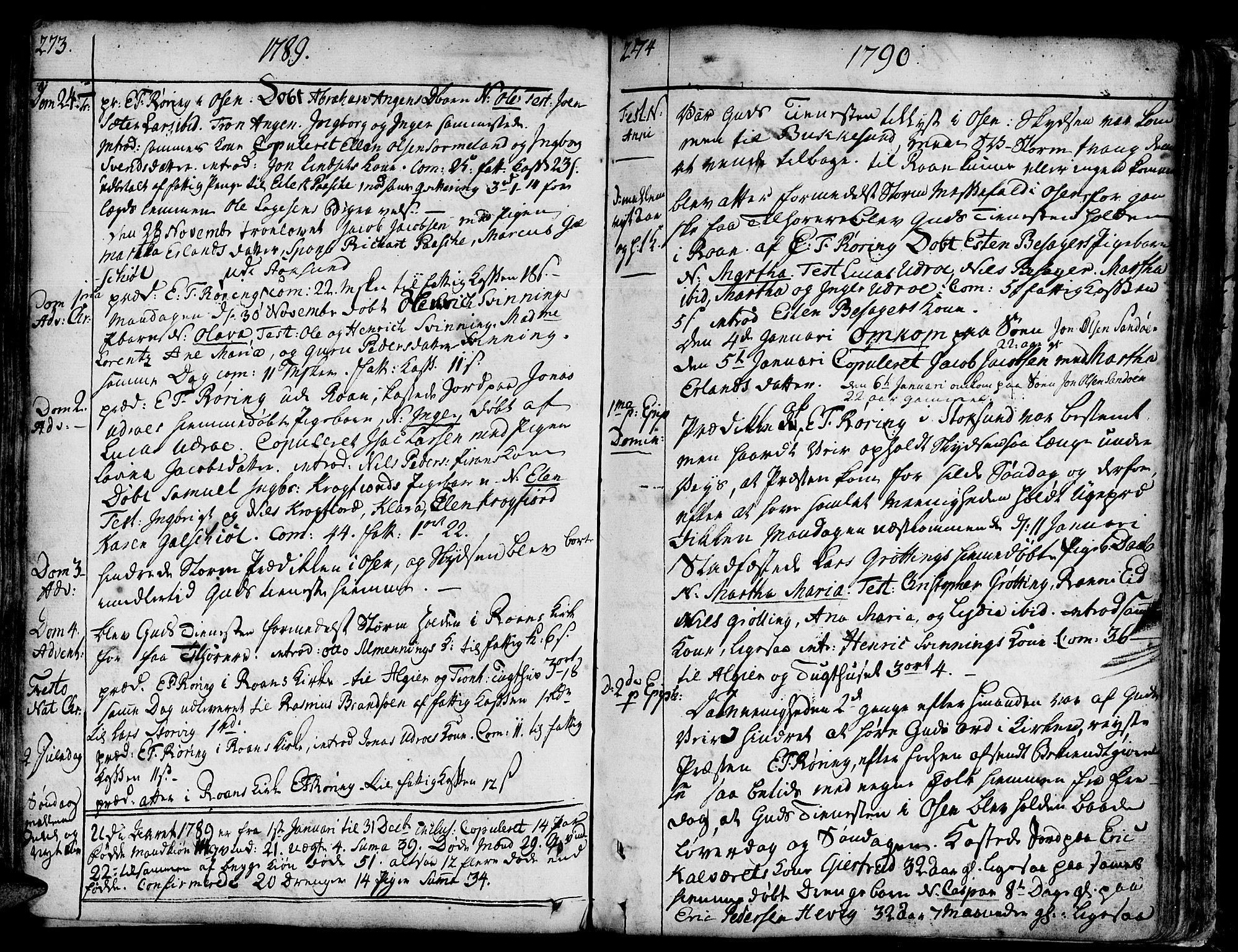 SAT, Ministerialprotokoller, klokkerbøker og fødselsregistre - Sør-Trøndelag, 657/L0700: Ministerialbok nr. 657A01, 1732-1801, s. 373-374