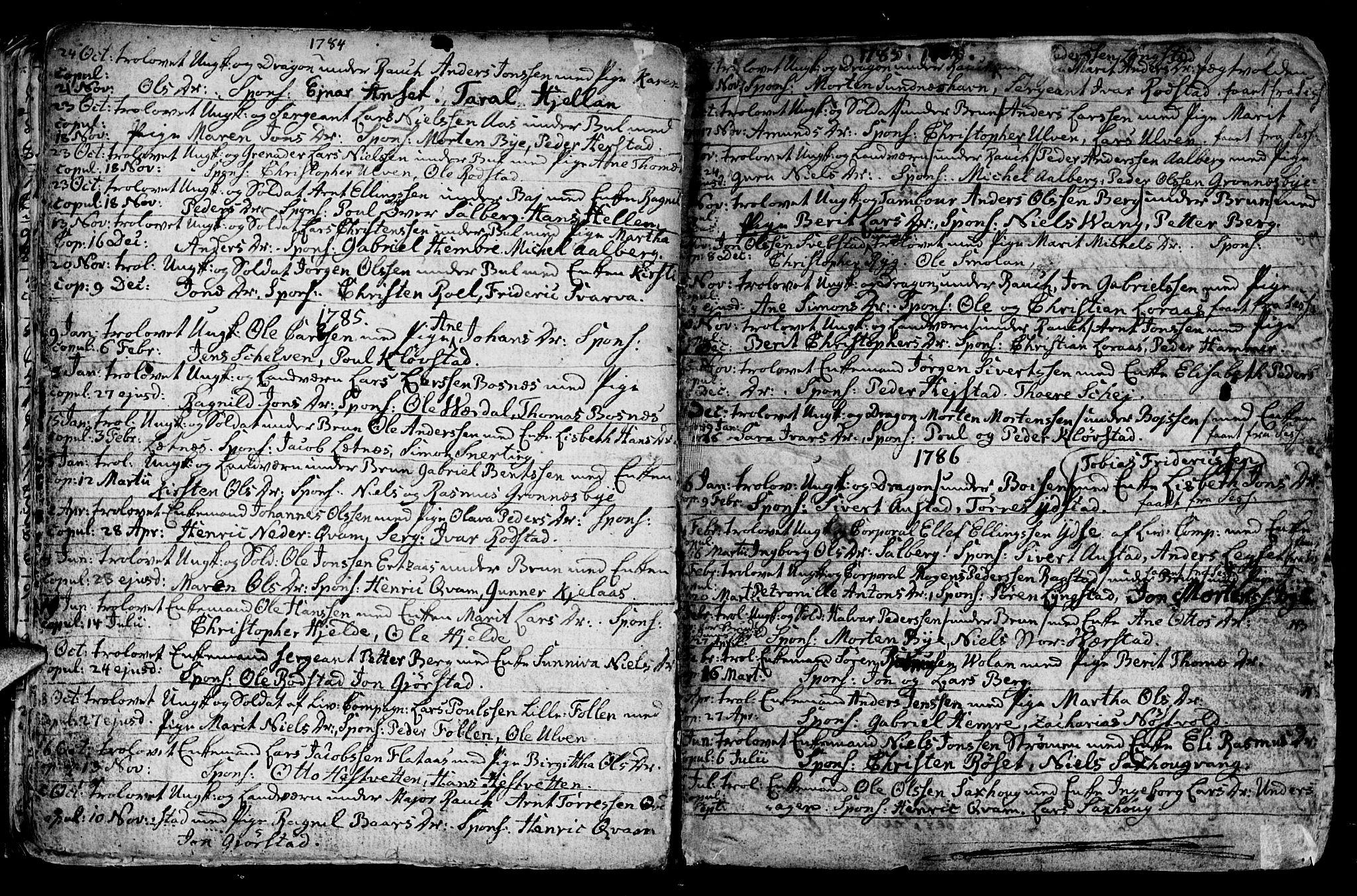 SAT, Ministerialprotokoller, klokkerbøker og fødselsregistre - Nord-Trøndelag, 730/L0273: Ministerialbok nr. 730A02, 1762-1802, s. 19
