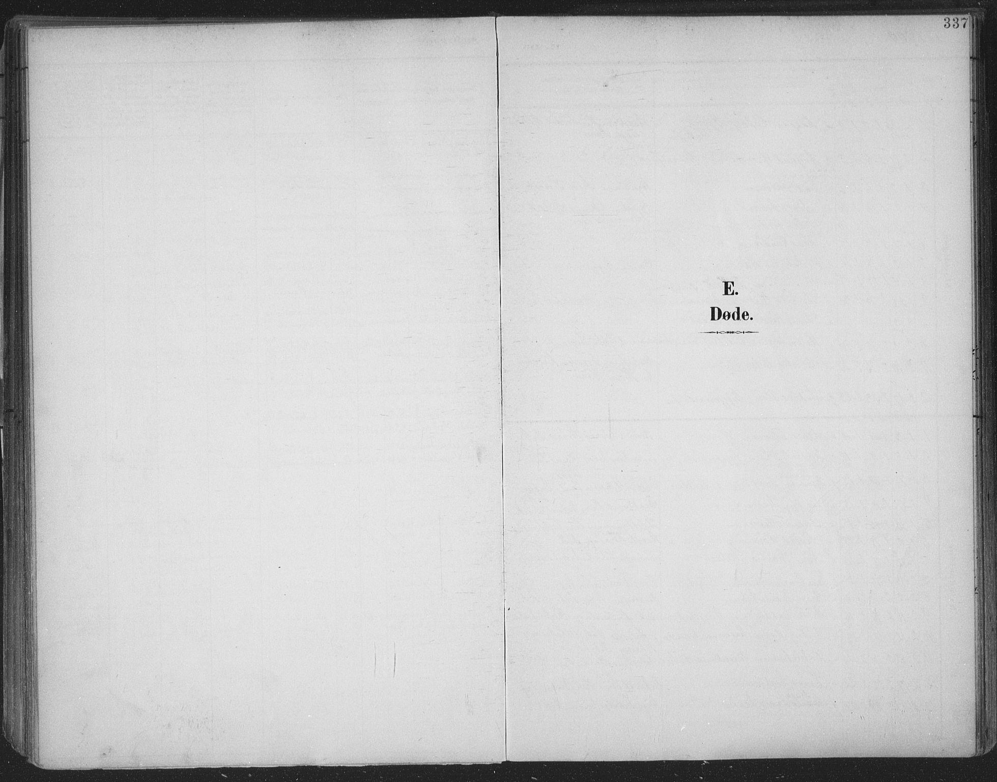 SAKO, Skien kirkebøker, F/Fa/L0011: Ministerialbok nr. 11, 1900-1907, s. 337