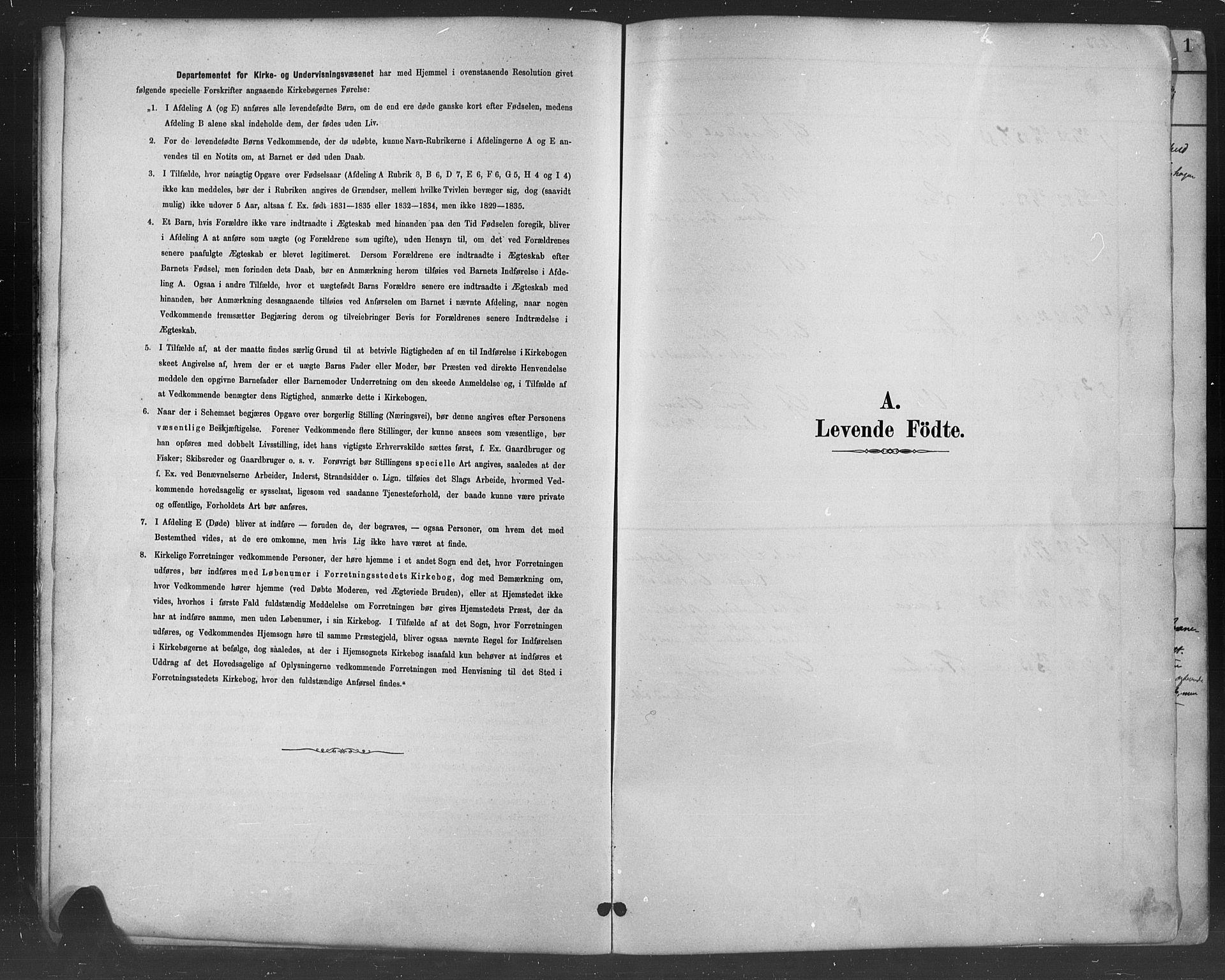 SAH, Nord-Aurdal prestekontor, Klokkerbok nr. 8, 1883-1916