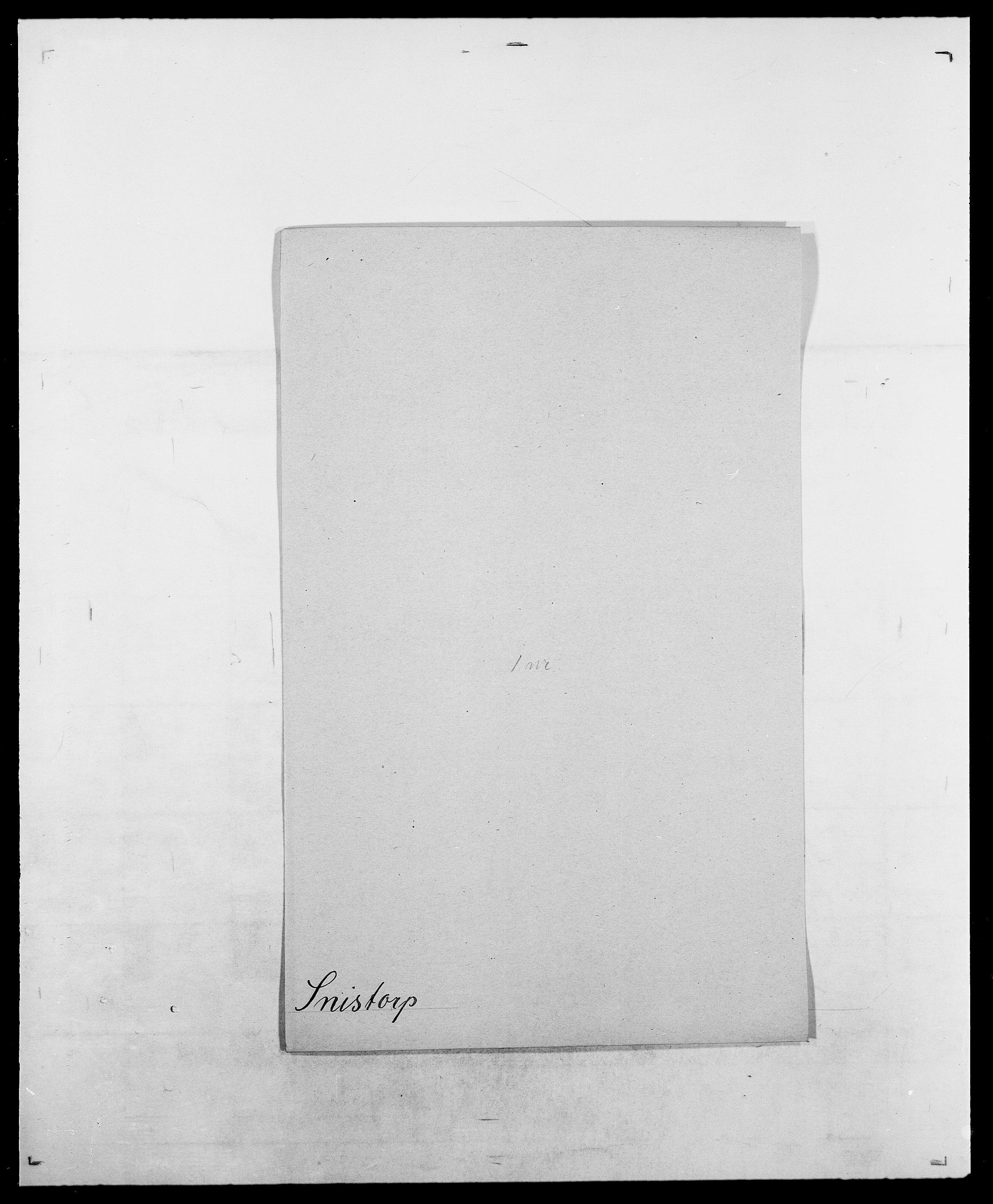 SAO, Delgobe, Charles Antoine - samling, D/Da/L0036: Skaanør - Staverskov, s. 353