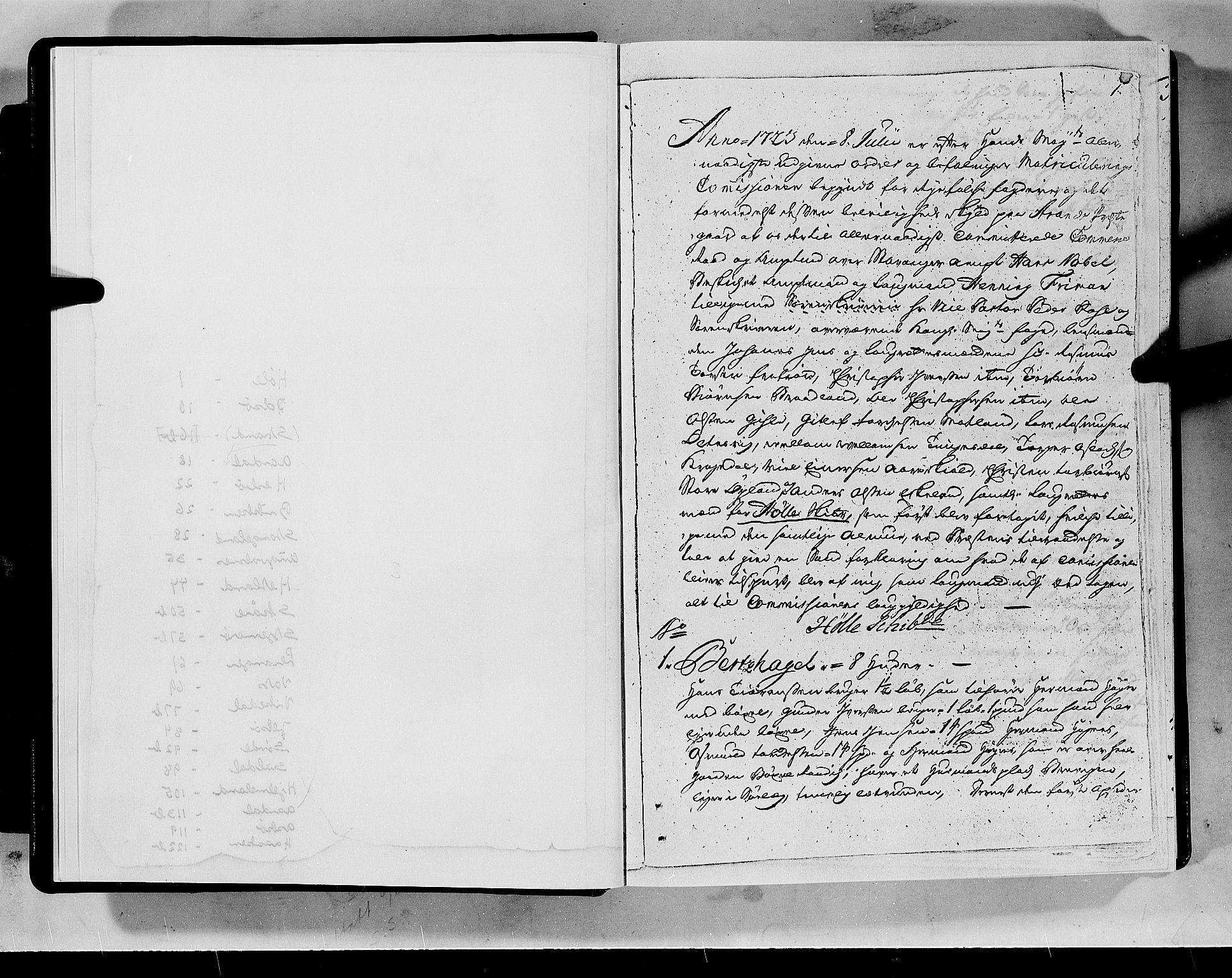 RA, Rentekammeret inntil 1814, Realistisk ordnet avdeling, N/Nb/Nbf/L0133a: Ryfylke eksaminasjonsprotokoll, 1723, s. 1a