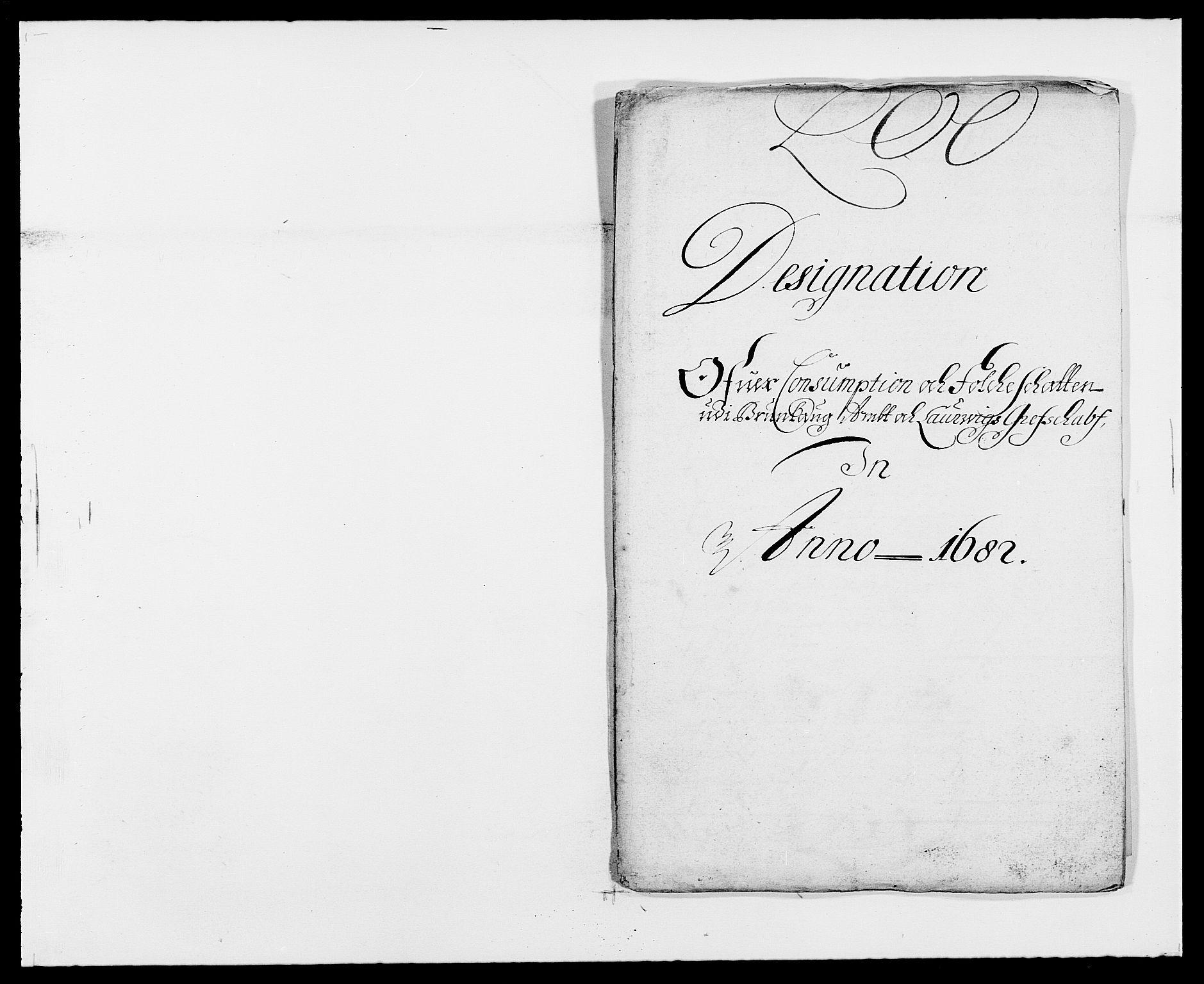RA, Rentekammeret inntil 1814, Reviderte regnskaper, Fogderegnskap, R33/L1969: Fogderegnskap Larvik grevskap, 1675-1687, s. 178