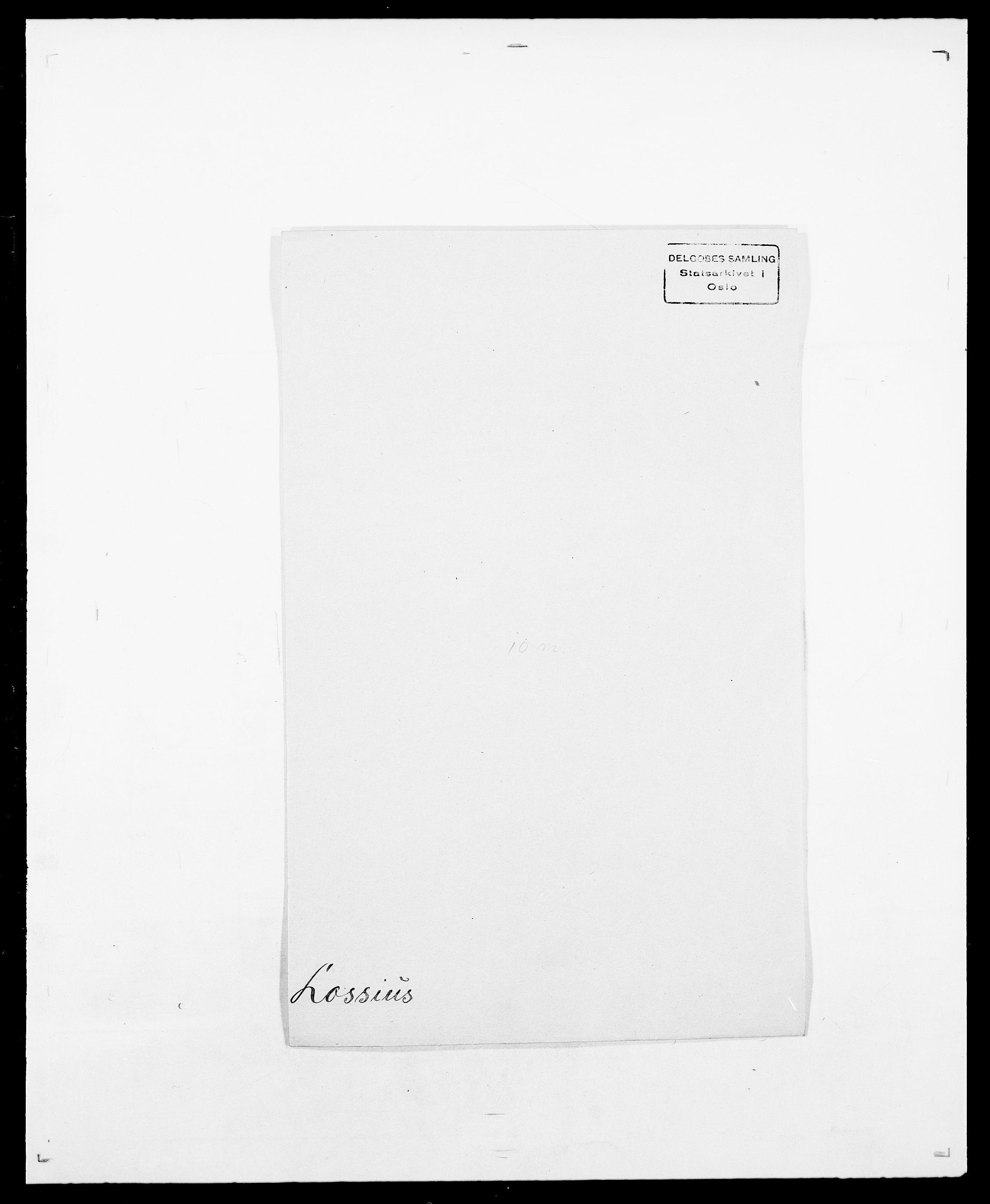 SAO, Delgobe, Charles Antoine - samling, D/Da/L0024: Lobech - Lærum, s. 316