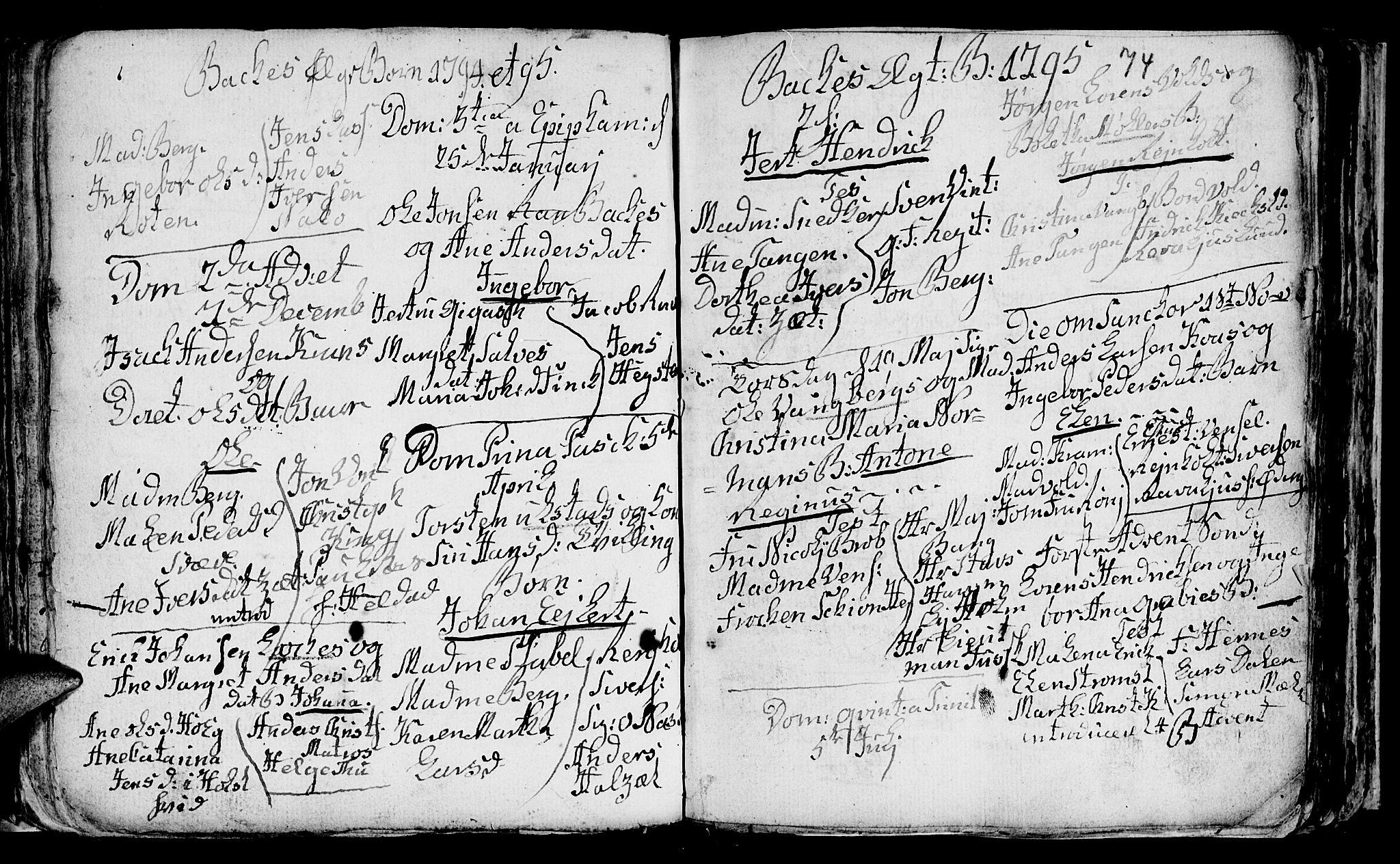 SAT, Ministerialprotokoller, klokkerbøker og fødselsregistre - Sør-Trøndelag, 604/L0218: Klokkerbok nr. 604C01, 1754-1819, s. 74