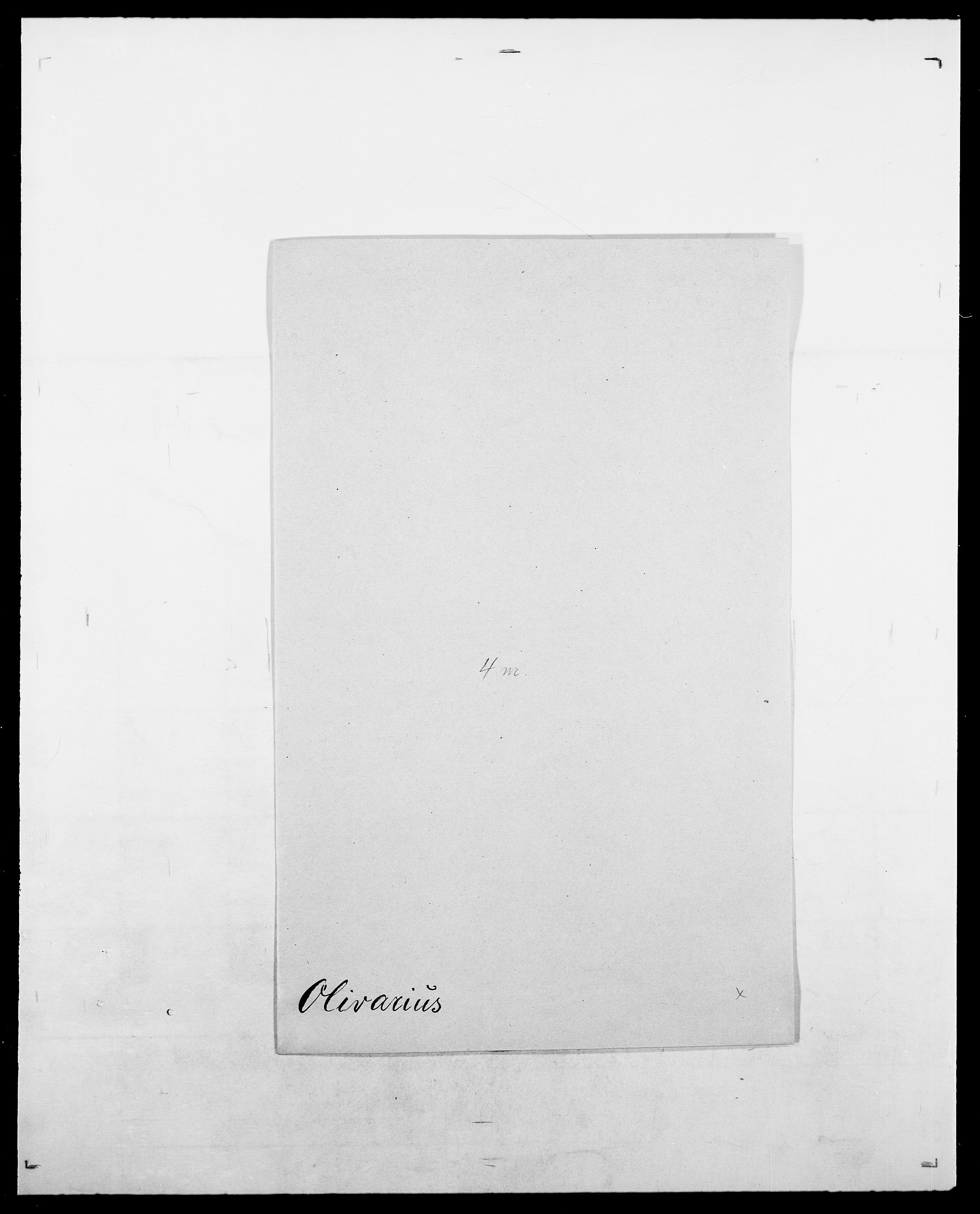SAO, Delgobe, Charles Antoine - samling, D/Da/L0029: Obel - Oxholm, s. 108