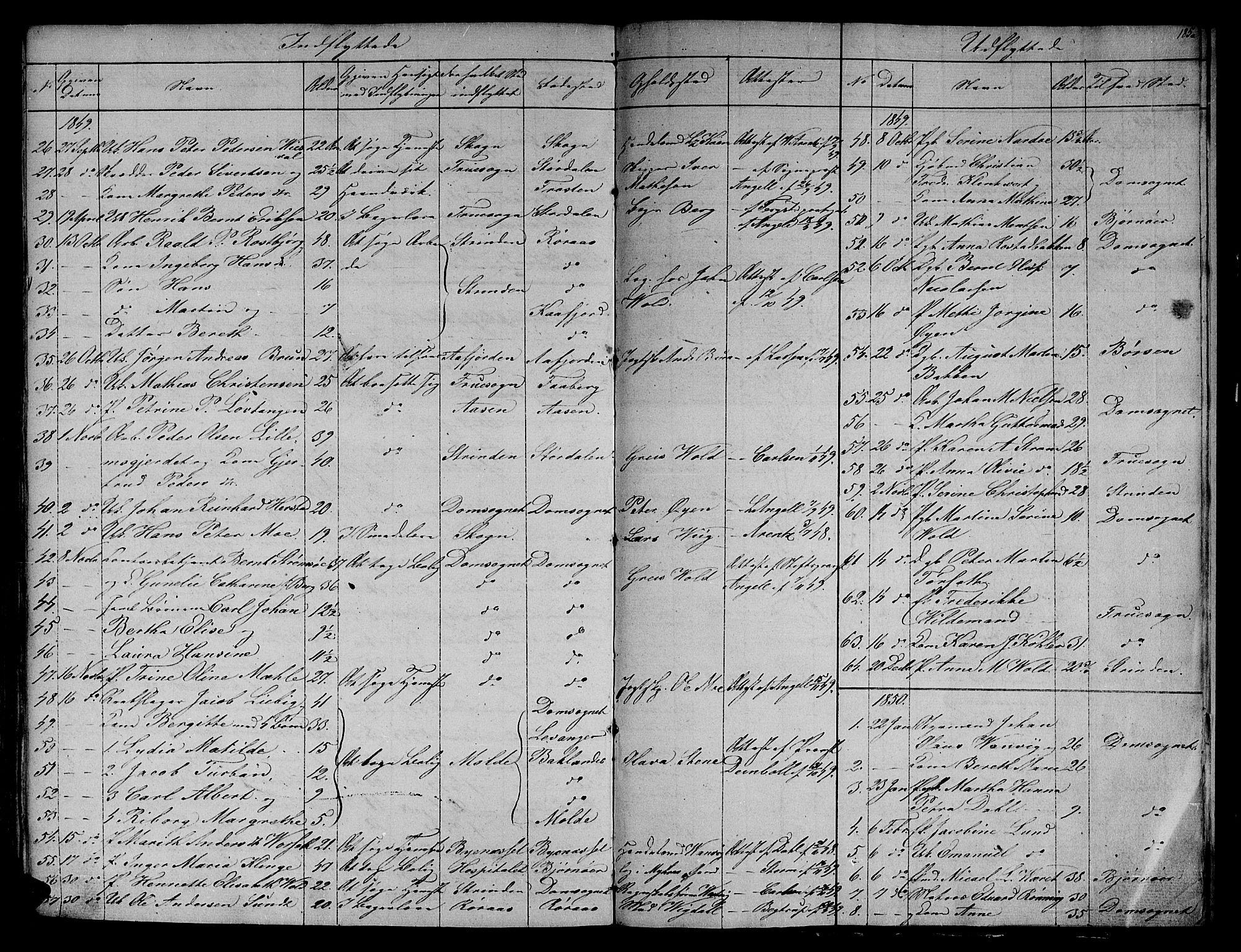 SAT, Ministerialprotokoller, klokkerbøker og fødselsregistre - Sør-Trøndelag, 604/L0182: Ministerialbok nr. 604A03, 1818-1850, s. 185a
