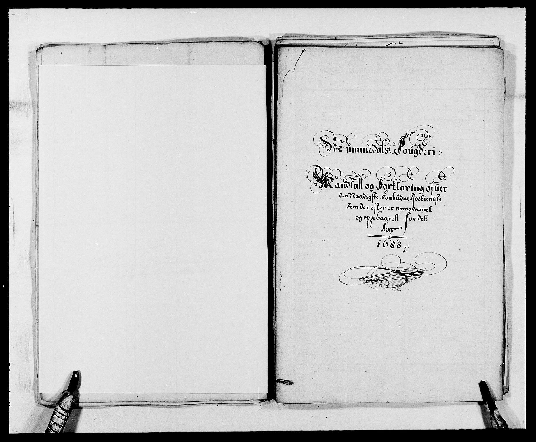 RA, Rentekammeret inntil 1814, Reviderte regnskaper, Fogderegnskap, R64/L4422: Fogderegnskap Namdal, 1687-1689, s. 142