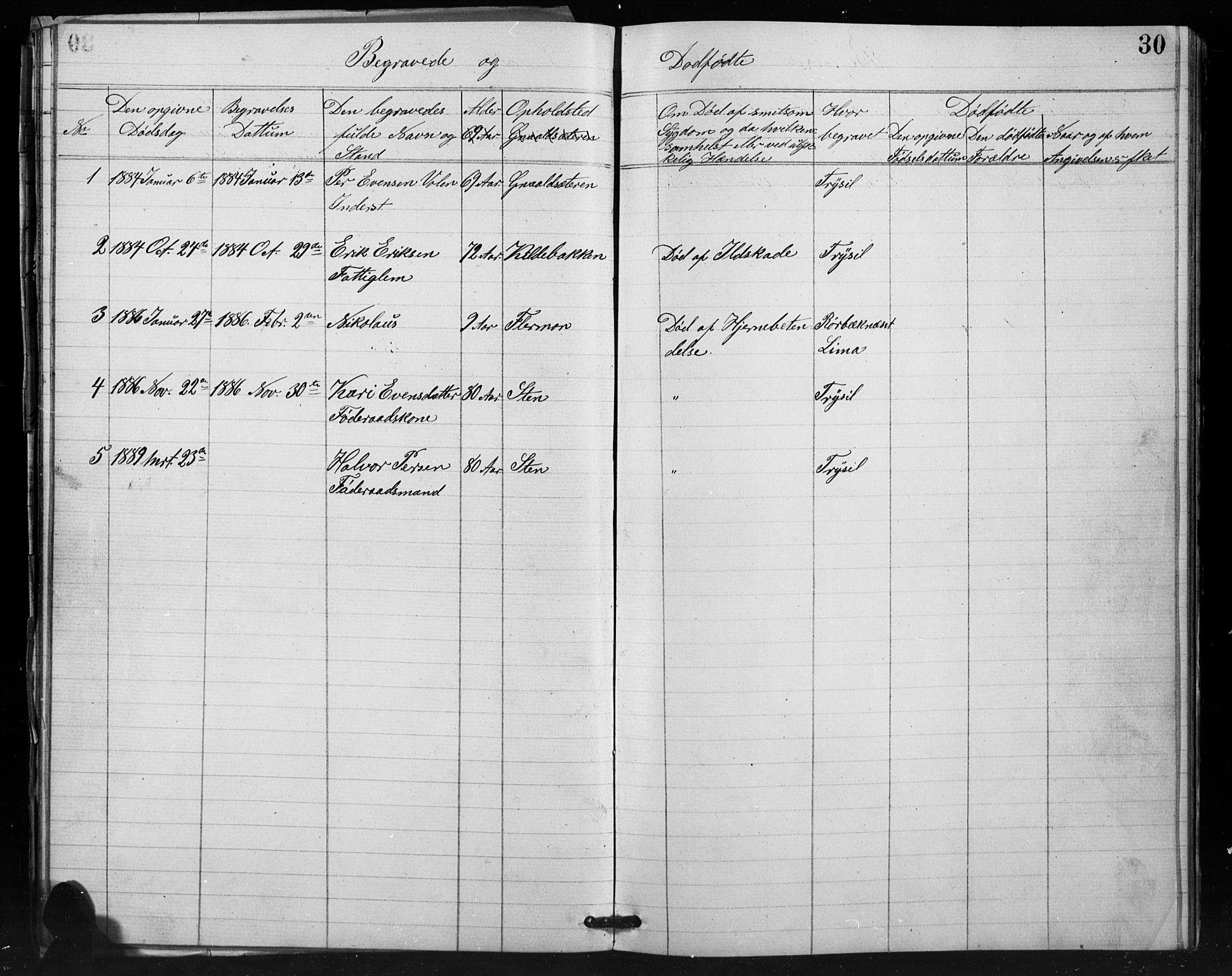 SAH, Misjonsforbundet, 01/L0002: Dissenterprotokoll nr. 2, 1882-1892, s. 30