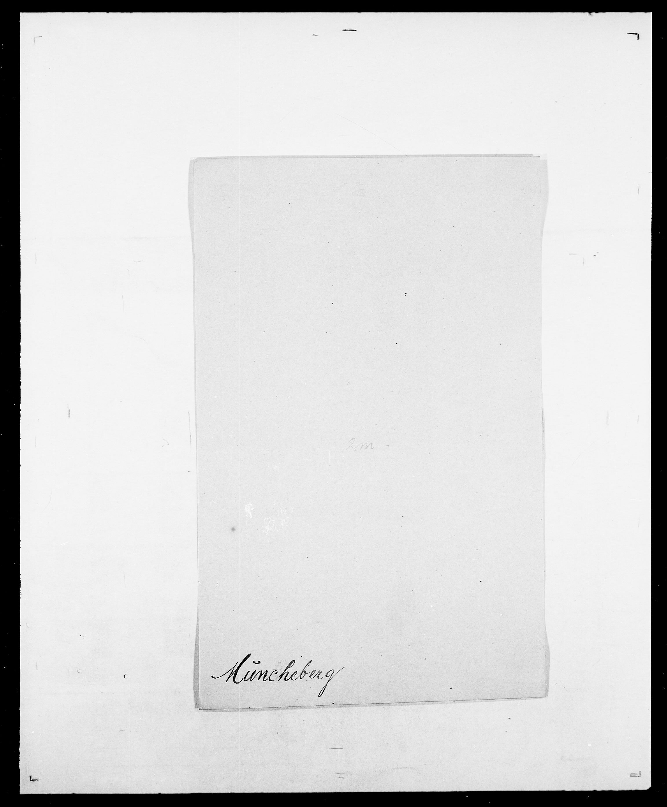 SAO, Delgobe, Charles Antoine - samling, D/Da/L0027: Morath - v. Møsting, s. 216