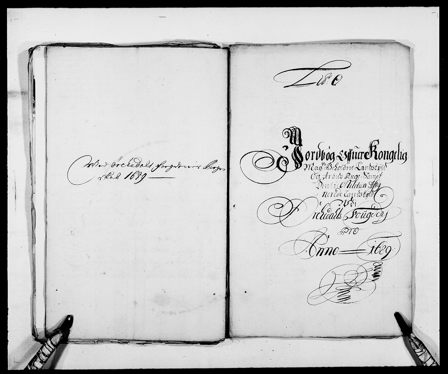 RA, Rentekammeret inntil 1814, Reviderte regnskaper, Fogderegnskap, R58/L3936: Fogderegnskap Orkdal, 1689-1690, s. 146