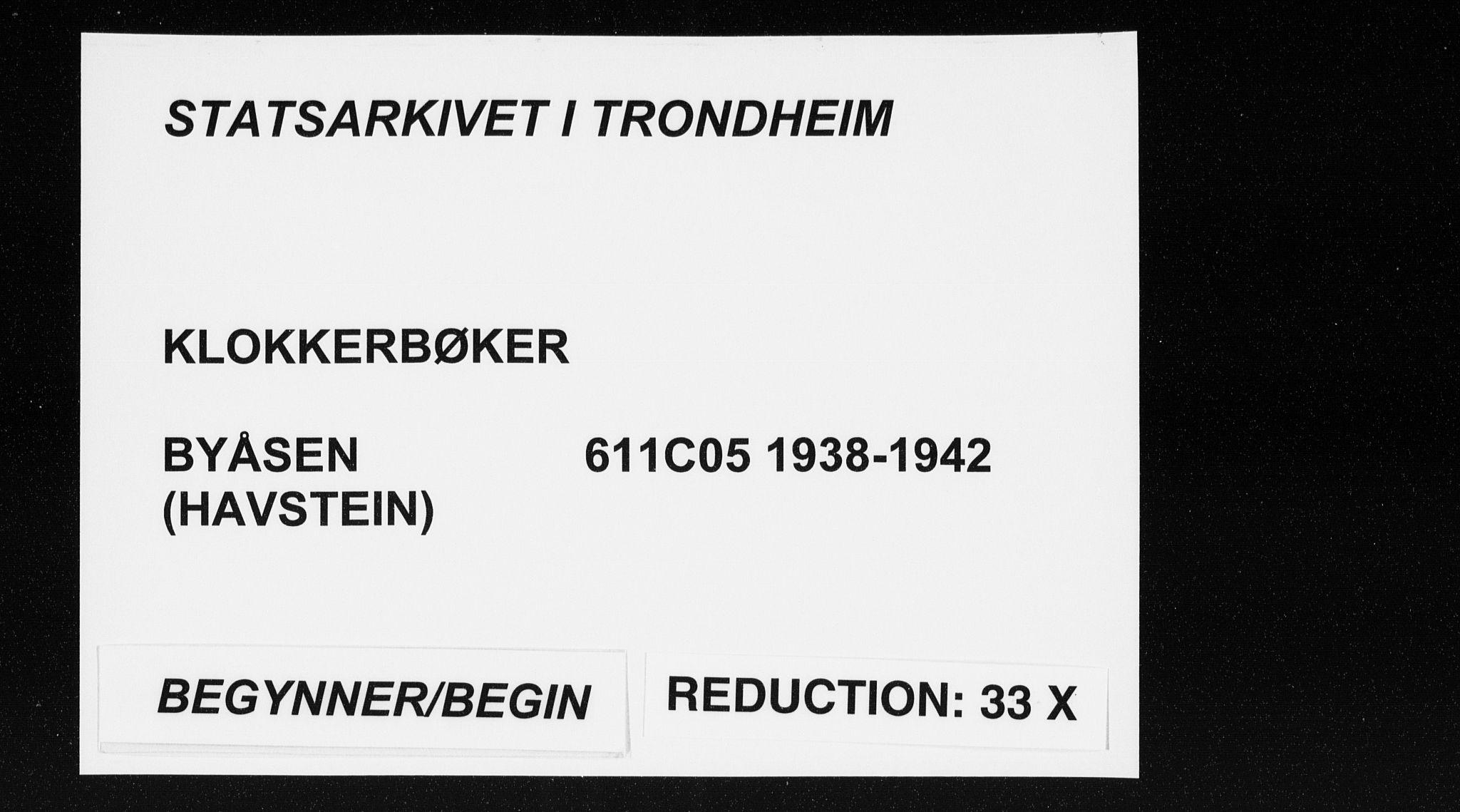 SAT, Ministerialprotokoller, klokkerbøker og fødselsregistre - Sør-Trøndelag, 611/L0357: Klokkerbok nr. 611C05, 1938-1942