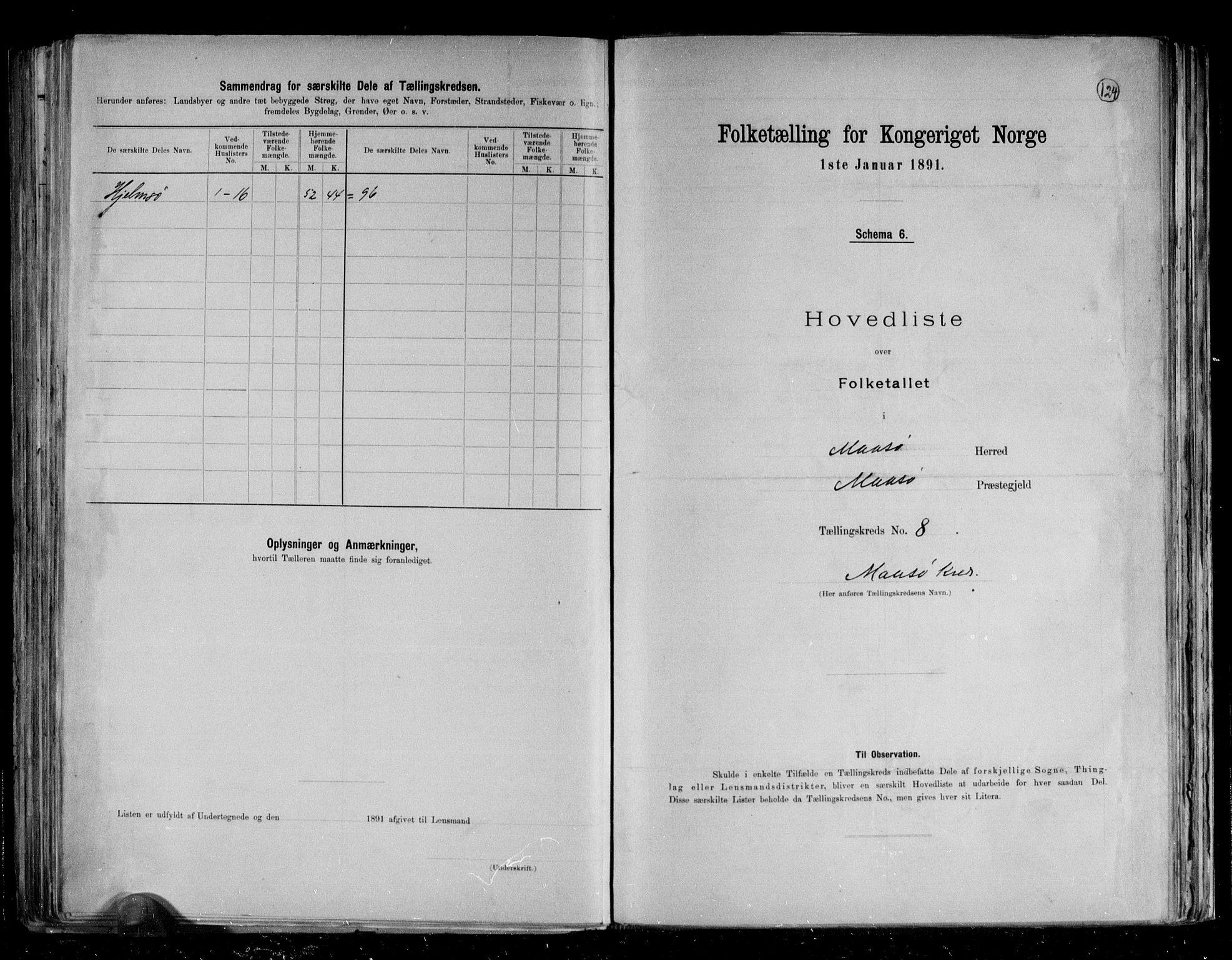 RA, Folketelling 1891 for 2018 Måsøy herred, 1891, s. 20