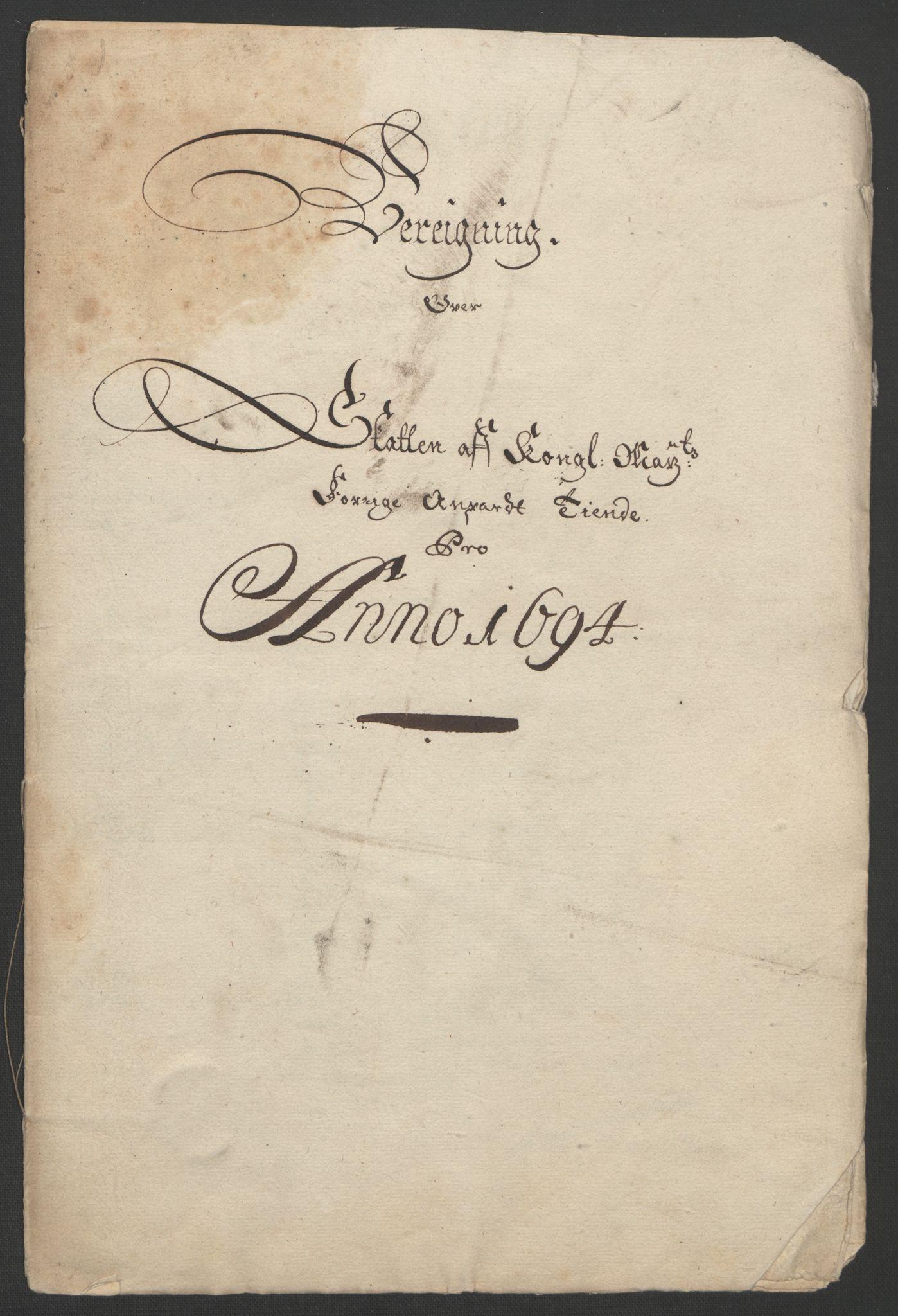 RA, Rentekammeret inntil 1814, Reviderte regnskaper, Fogderegnskap, R22/L1451: Fogderegnskap Ringerike, Hallingdal og Buskerud, 1694, s. 299