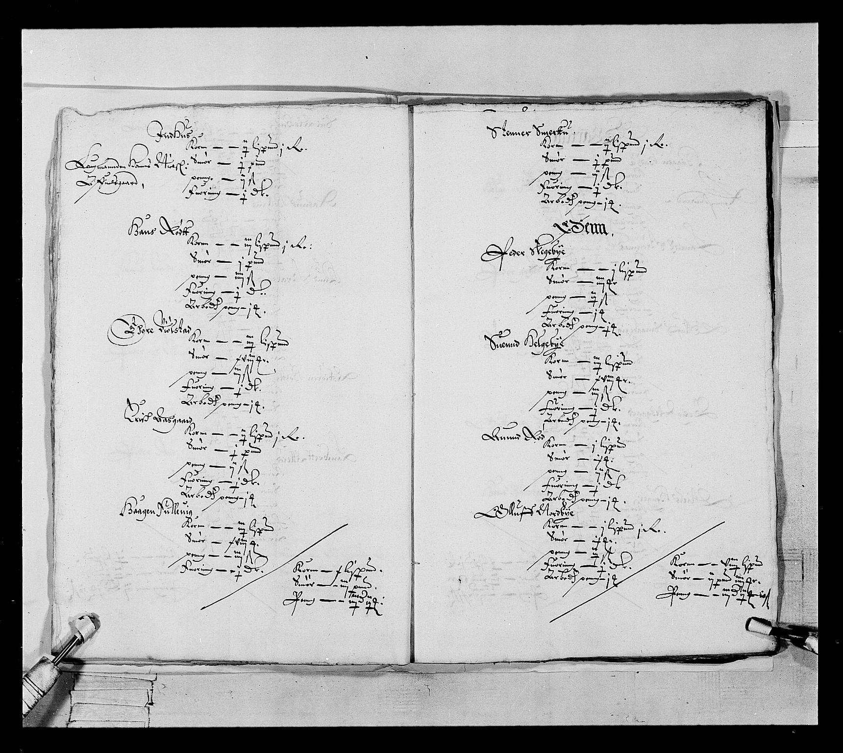 RA, Stattholderembetet 1572-1771, Ek/L0022: Jordebøker 1633-1658:, 1646-1647, s. 16
