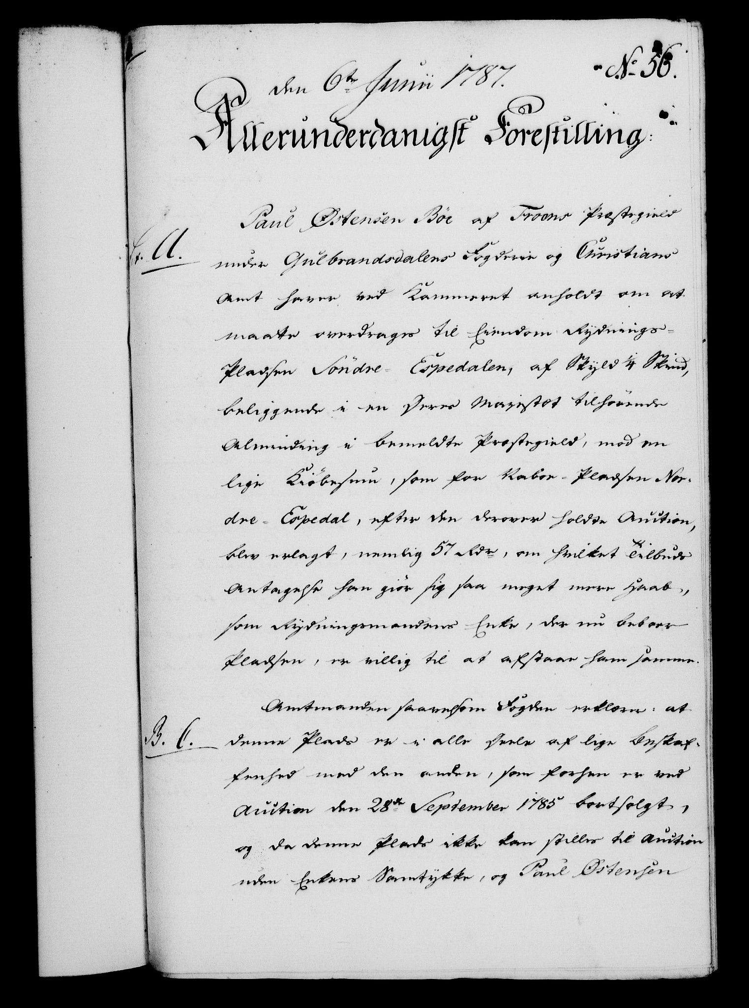 RA, Rentekammeret, Kammerkanselliet, G/Gf/Gfa/L0069: Norsk relasjons- og resolusjonsprotokoll (merket RK 52.69), 1787, s. 418