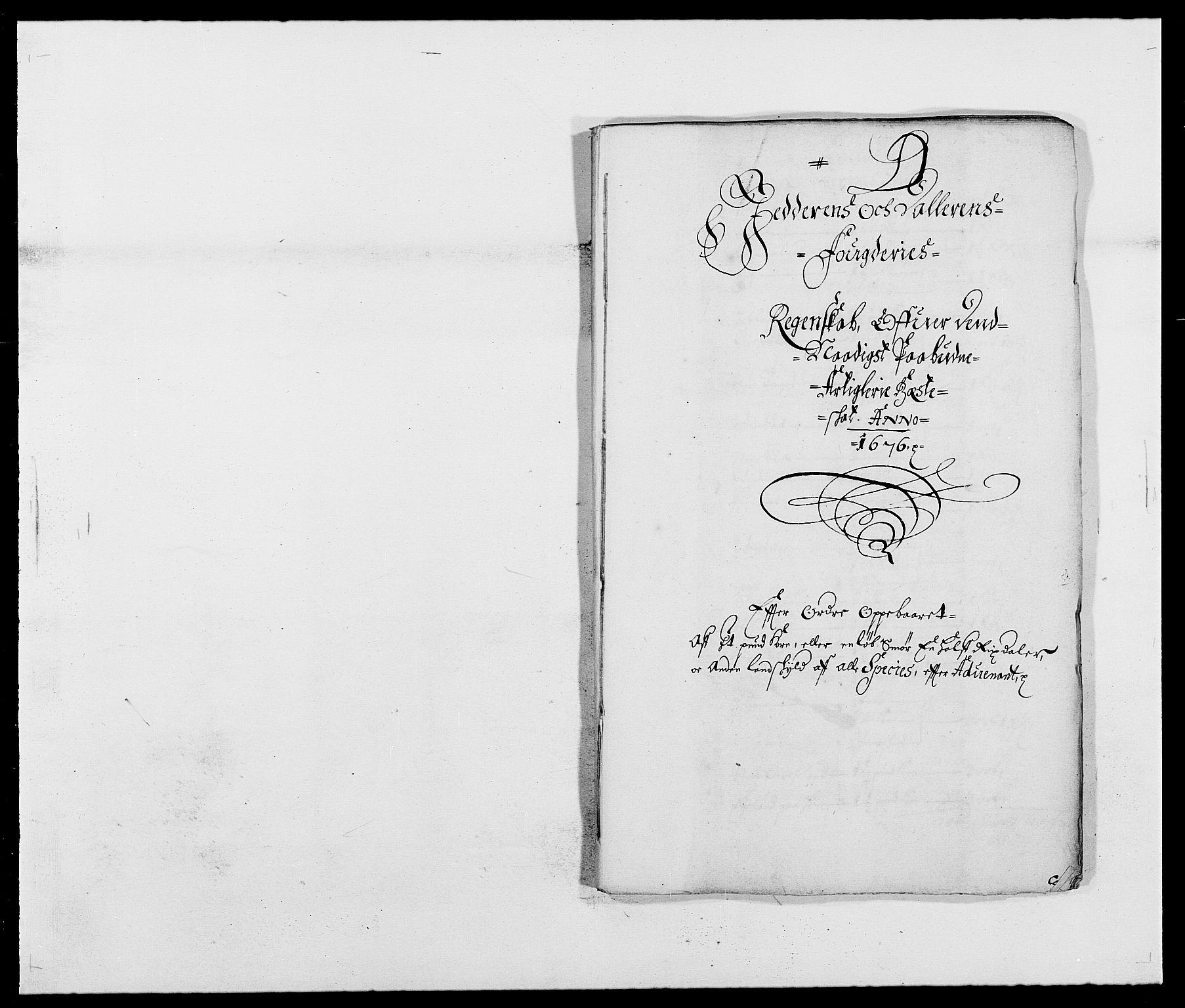 RA, Rentekammeret inntil 1814, Reviderte regnskaper, Fogderegnskap, R46/L2716: Fogderegnskap Jæren og Dalane, 1676, s. 100