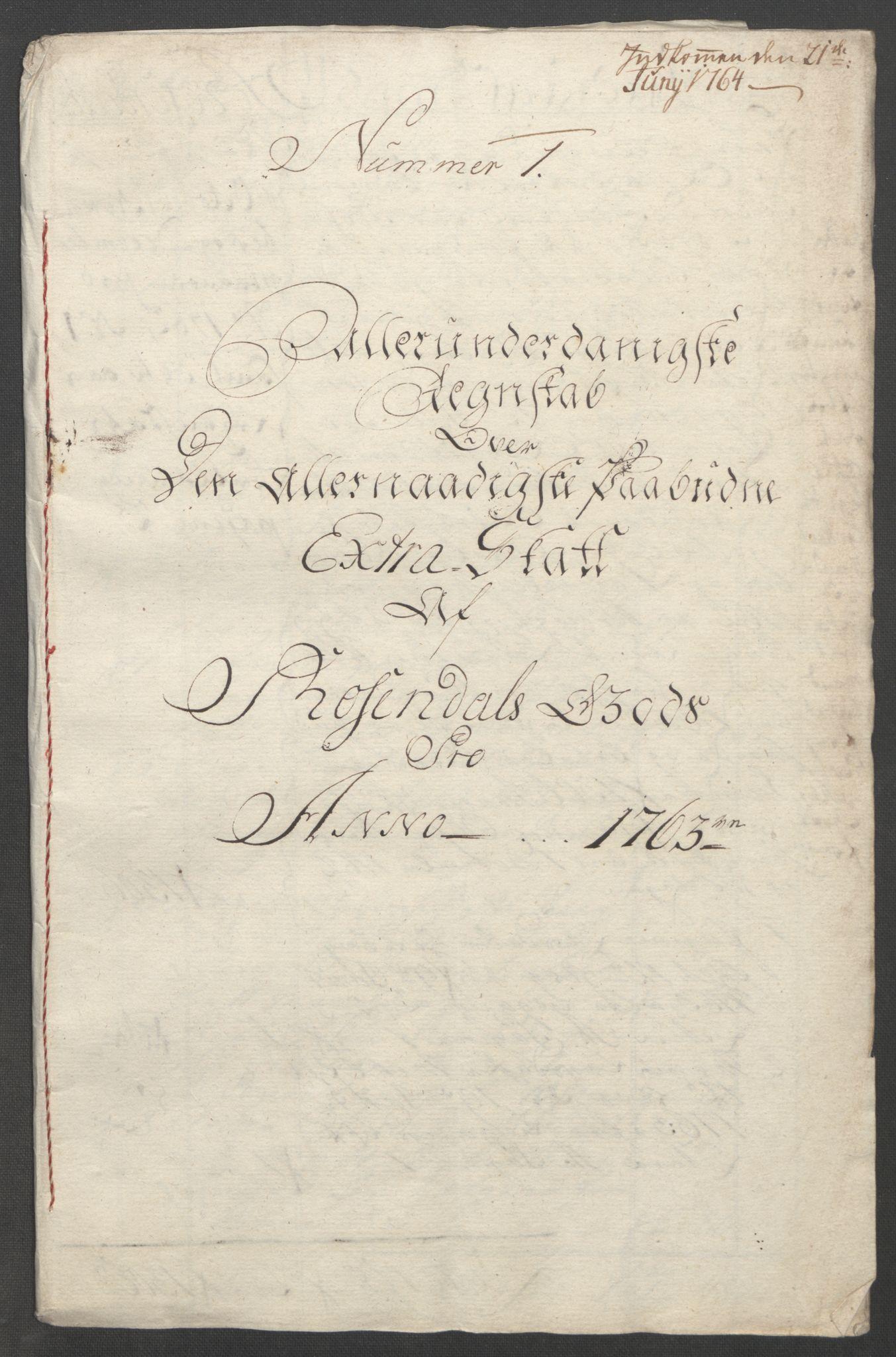 RA, Rentekammeret inntil 1814, Reviderte regnskaper, Fogderegnskap, R49/L3157: Ekstraskatten Rosendal Baroni, 1762-1772, s. 16