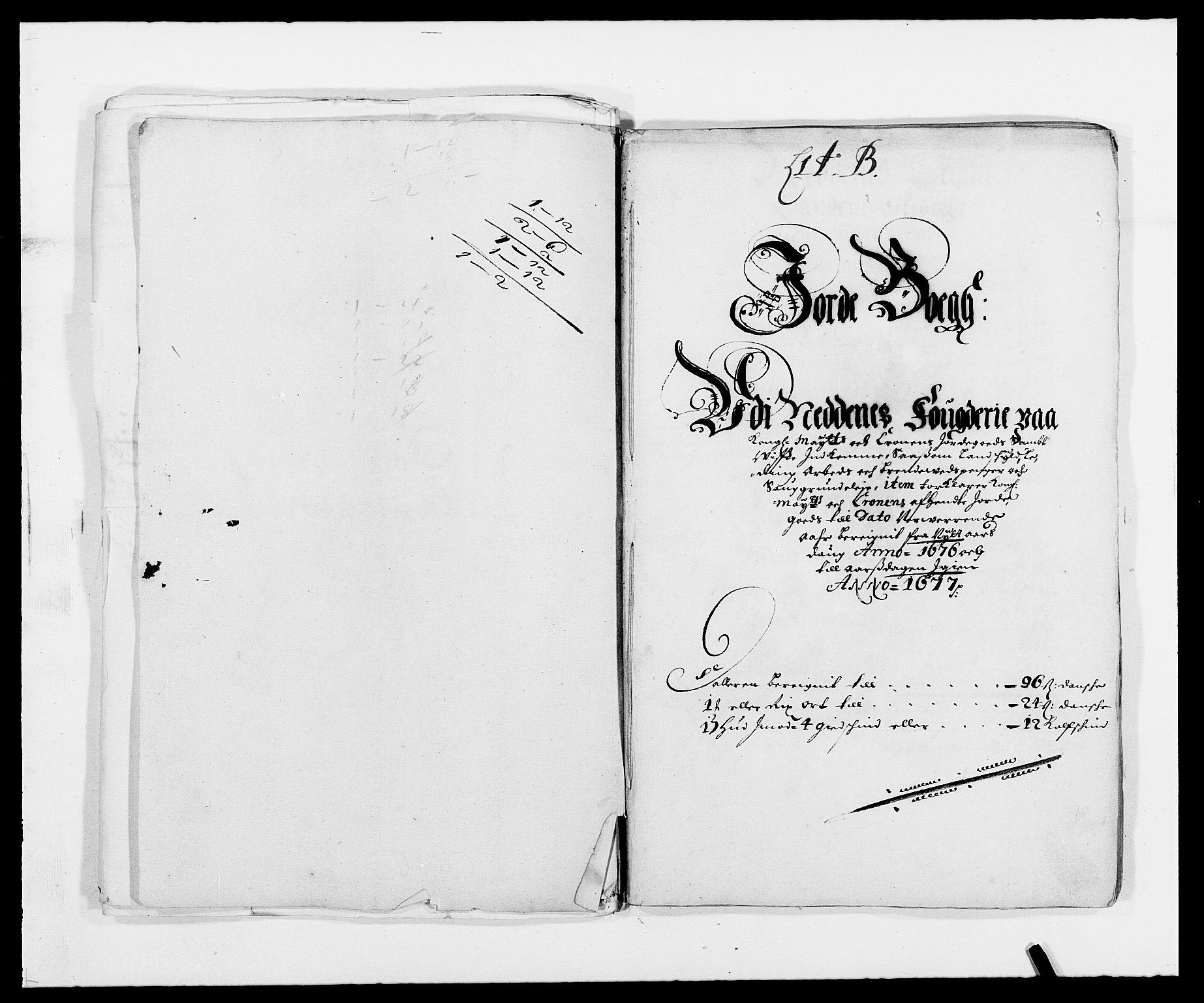 RA, Rentekammeret inntil 1814, Reviderte regnskaper, Fogderegnskap, R39/L2301: Fogderegnskap Nedenes, 1675-1676, s. 195