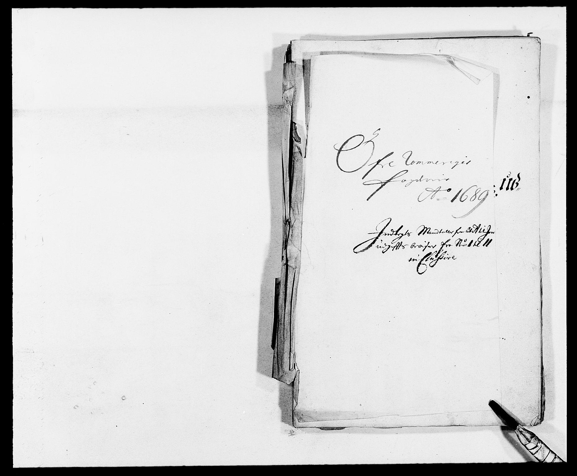 RA, Rentekammeret inntil 1814, Reviderte regnskaper, Fogderegnskap, R12/L0701: Fogderegnskap Øvre Romerike, 1689, s. 220