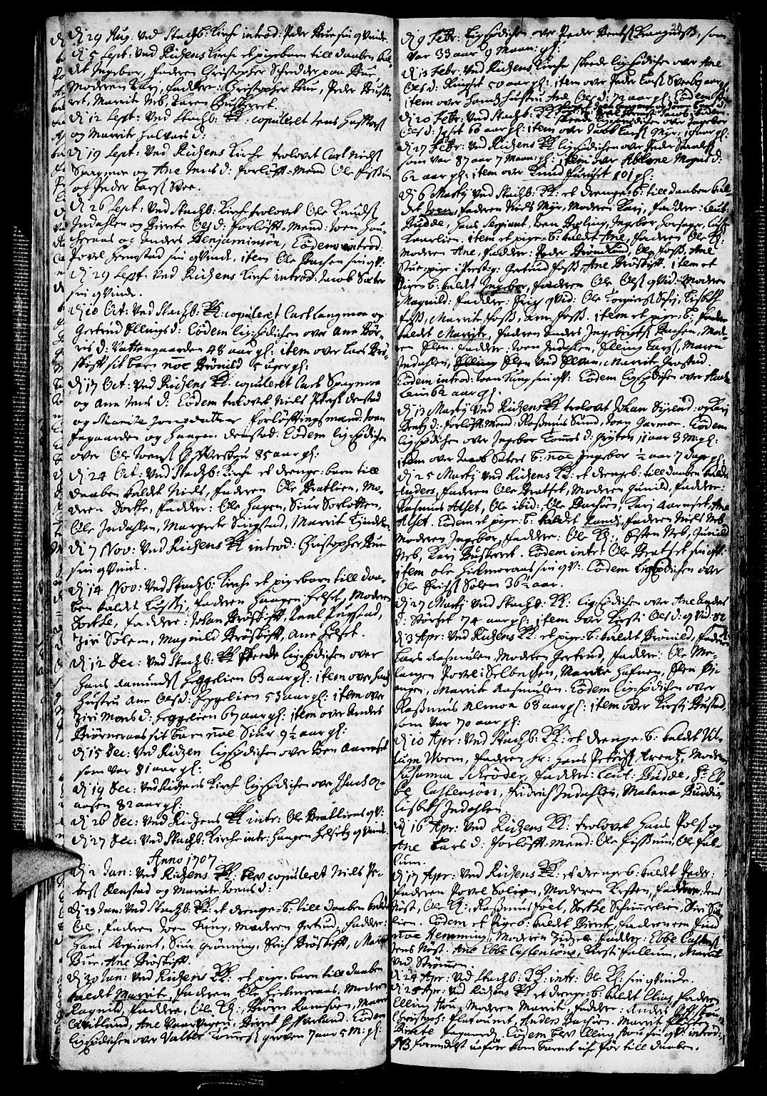 SAT, Ministerialprotokoller, klokkerbøker og fødselsregistre - Sør-Trøndelag, 646/L0603: Ministerialbok nr. 646A01, 1700-1734, s. 20