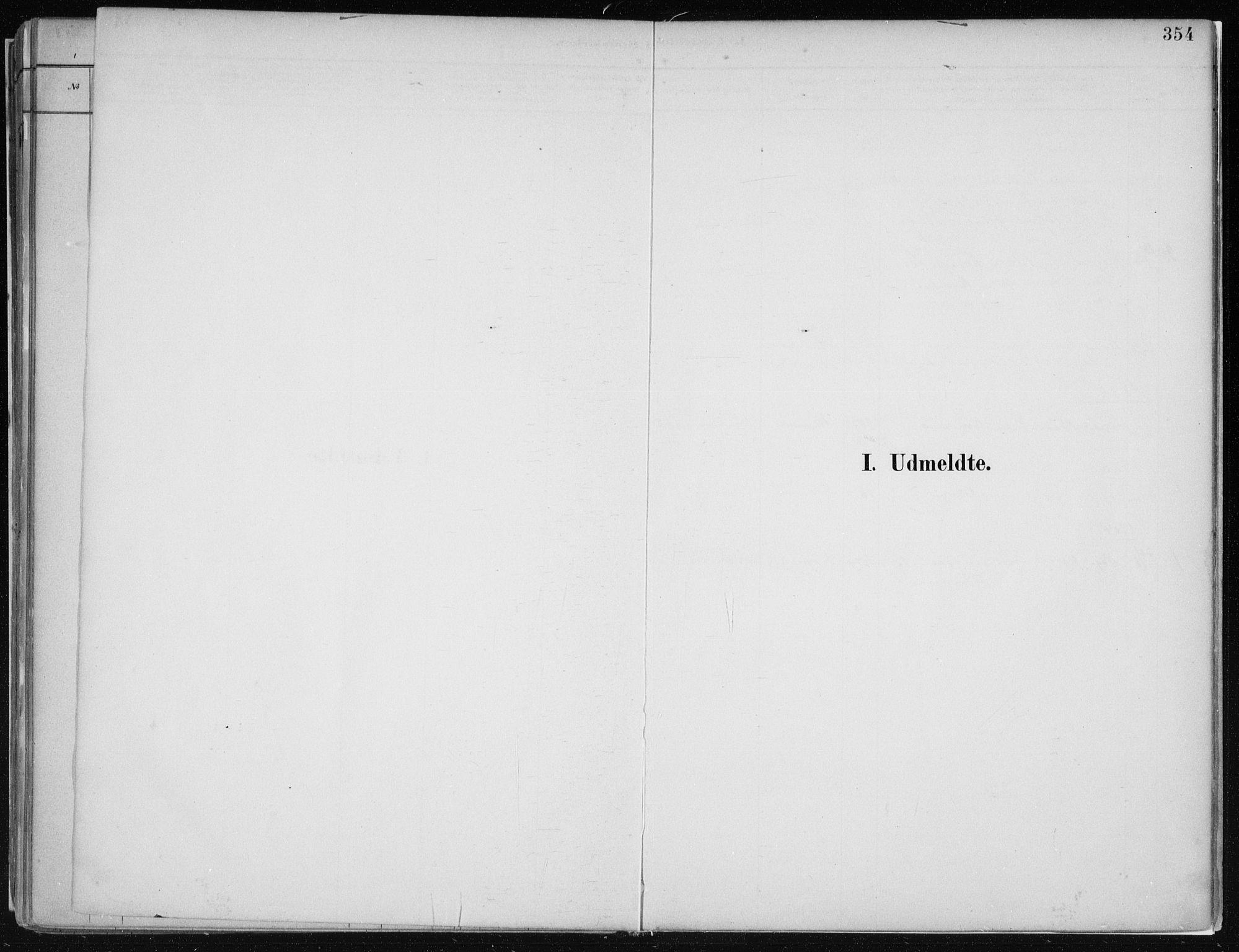 SAB, Hamre sokneprestembete, H/Ha/Haa: Ministerialbok nr. B  1, 1882-1905, s. 354