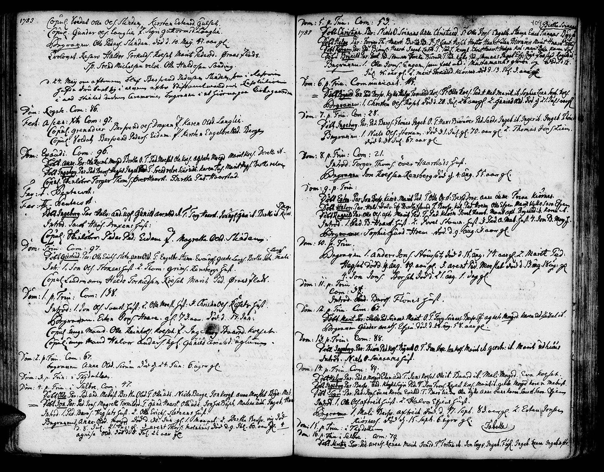 SAT, Ministerialprotokoller, klokkerbøker og fødselsregistre - Sør-Trøndelag, 695/L1138: Ministerialbok nr. 695A02 /1, 1757-1801, s. 109
