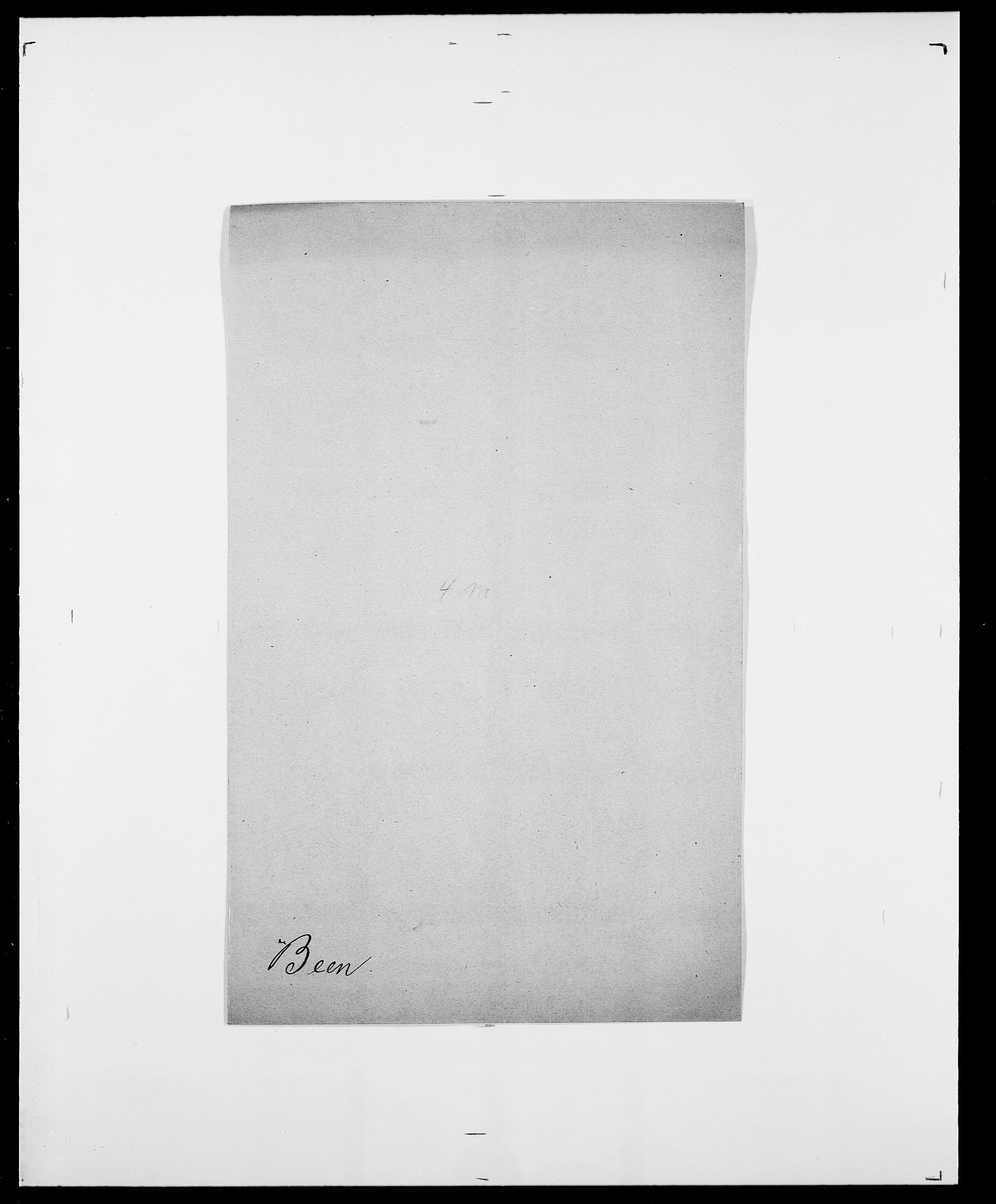 SAO, Delgobe, Charles Antoine - samling, D/Da/L0003: Barca - Bergen, s. 633