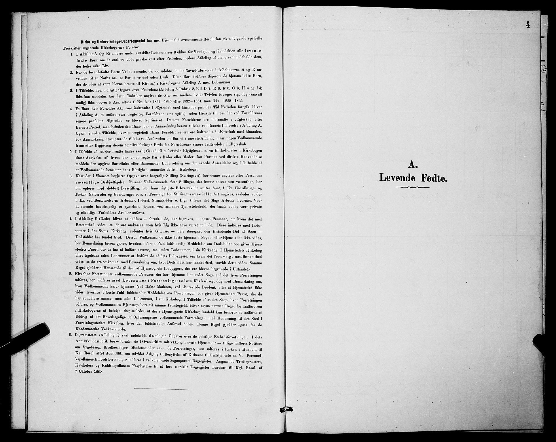 SATØ, Lenvik sokneprestembete, H/Ha: Klokkerbok nr. 7, 1890-1898, s. 4