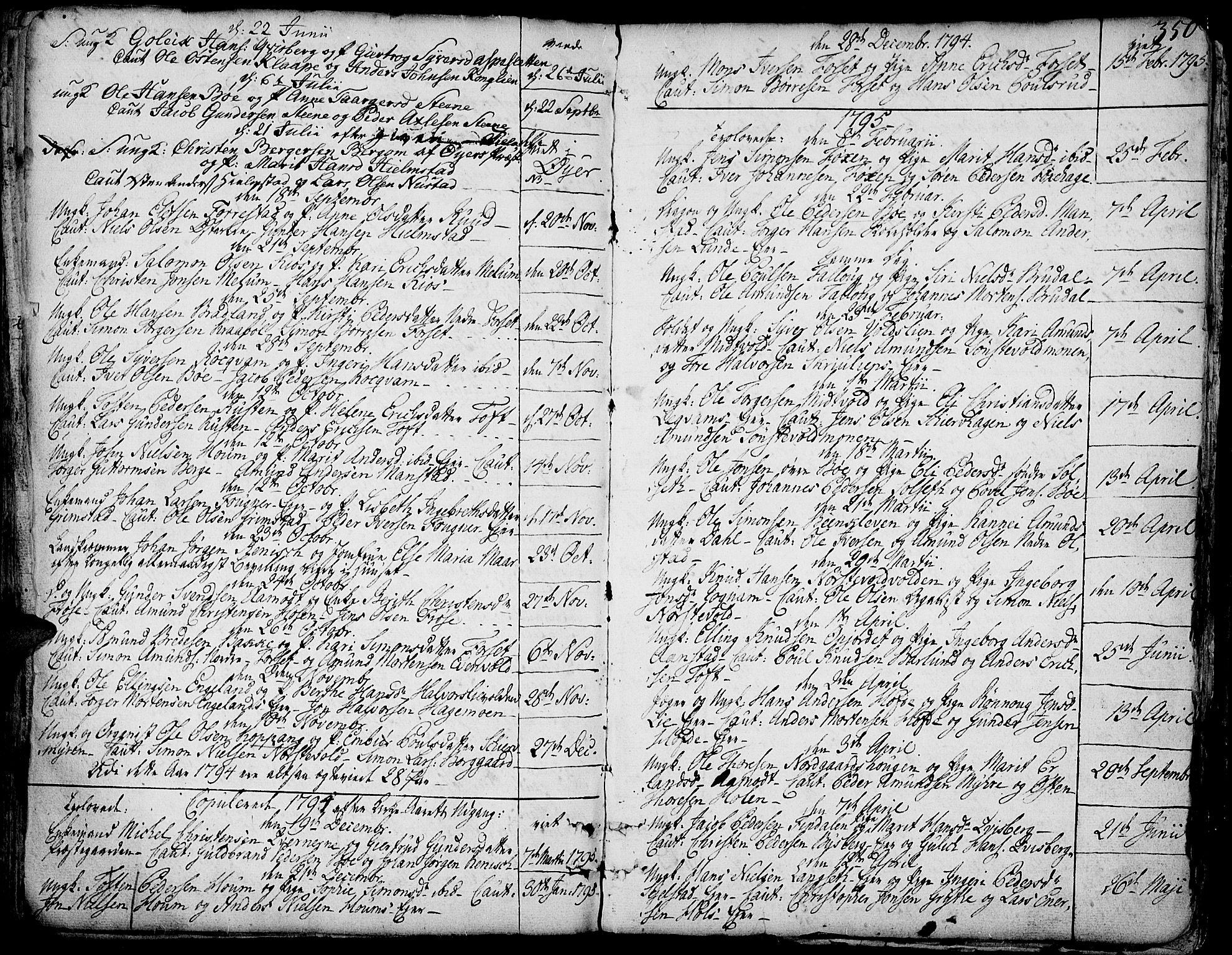 SAH, Gausdal prestekontor, Ministerialbok nr. 3, 1758-1809, s. 350
