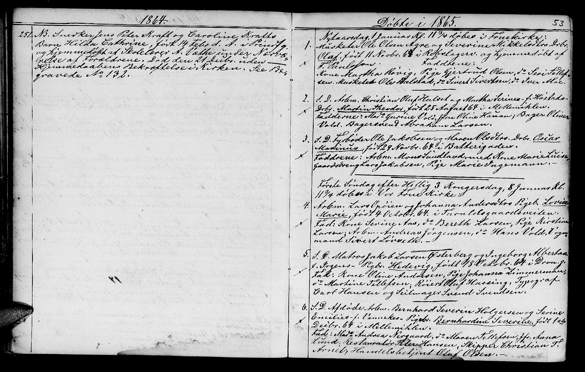 SAT, Ministerialprotokoller, klokkerbøker og fødselsregistre - Sør-Trøndelag, 602/L0140: Klokkerbok nr. 602C08, 1864-1872, s. 52-53