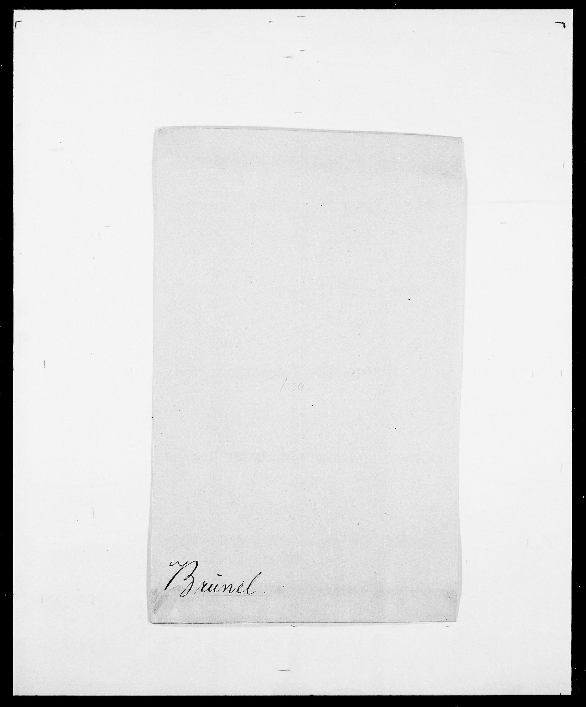 SAO, Delgobe, Charles Antoine - samling, D/Da/L0006: Brambani - Brønø, s. 823