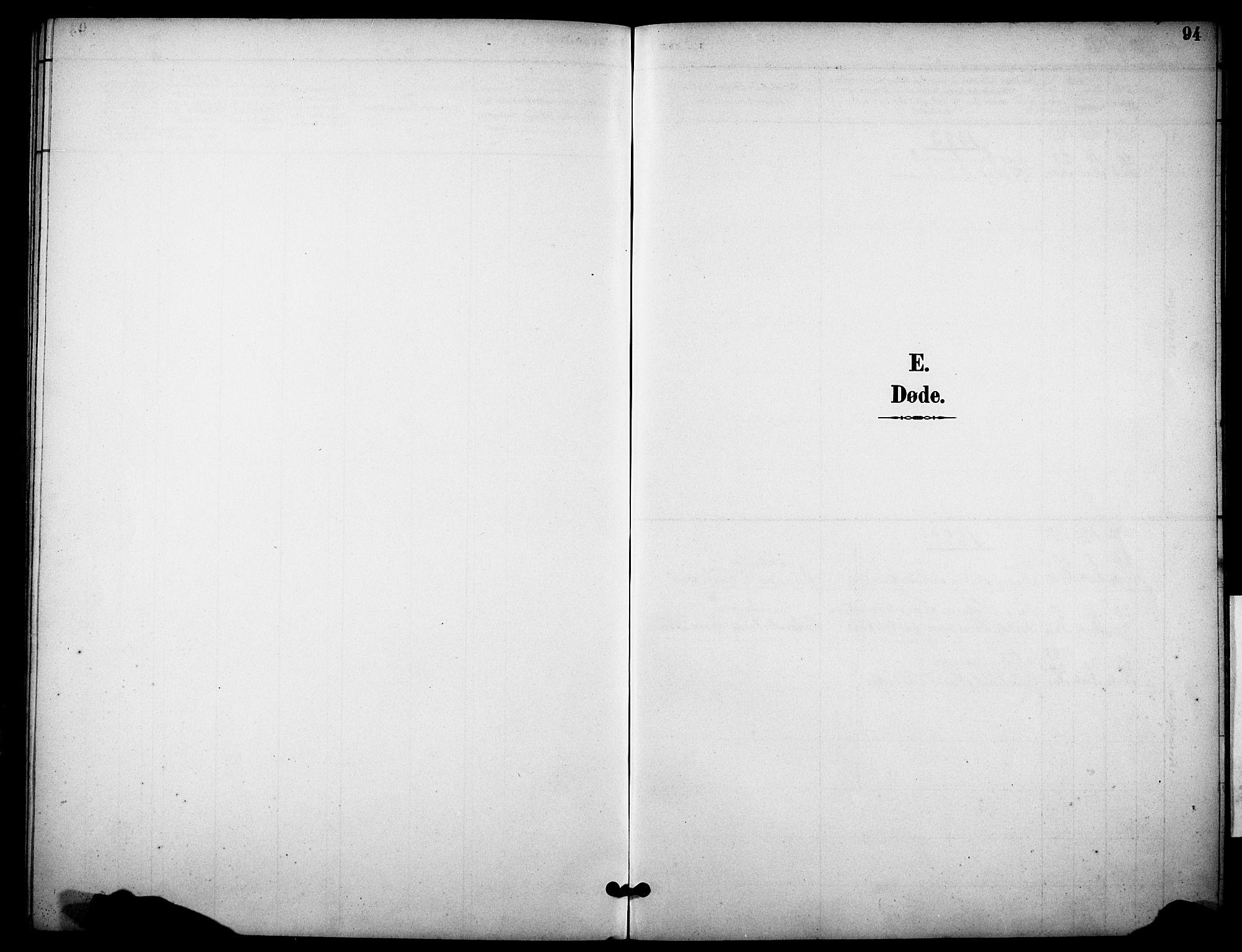 SAKO, Skåtøy kirkebøker, G/Gb/L0001: Klokkerbok nr. II 1, 1892-1916, s. 94