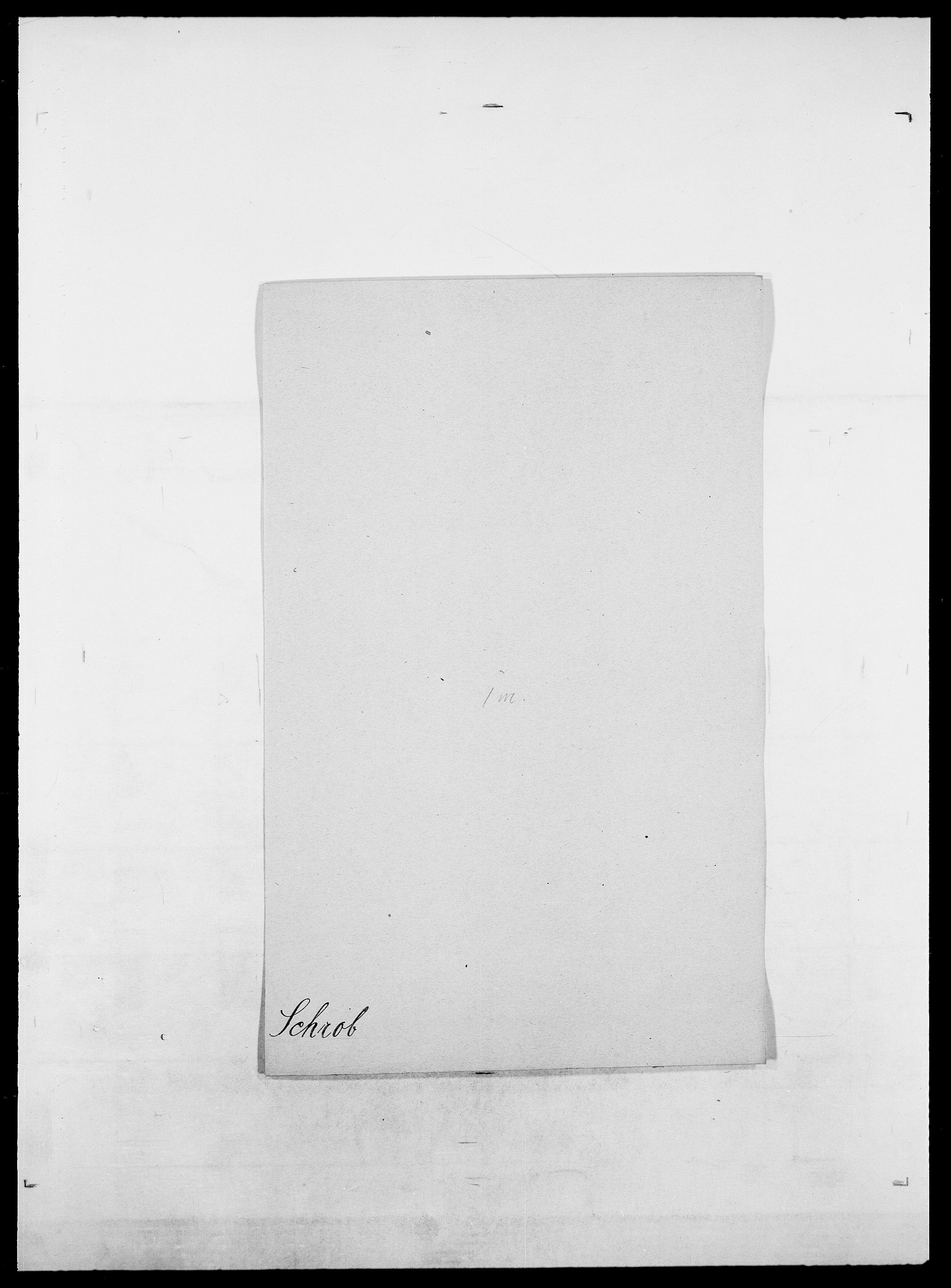 SAO, Delgobe, Charles Antoine - samling, D/Da/L0035: Schnabel - sjetman, s. 177