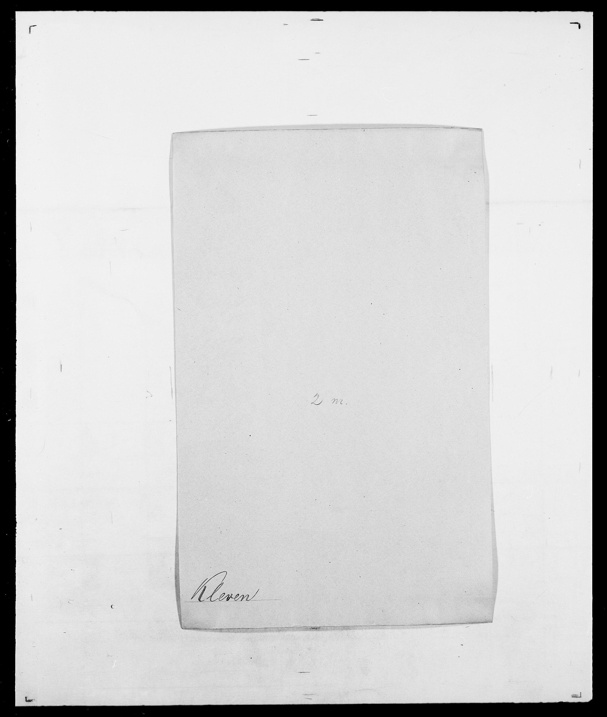 SAO, Delgobe, Charles Antoine - samling, D/Da/L0021: Klagenberg - Kristoft, s. 57