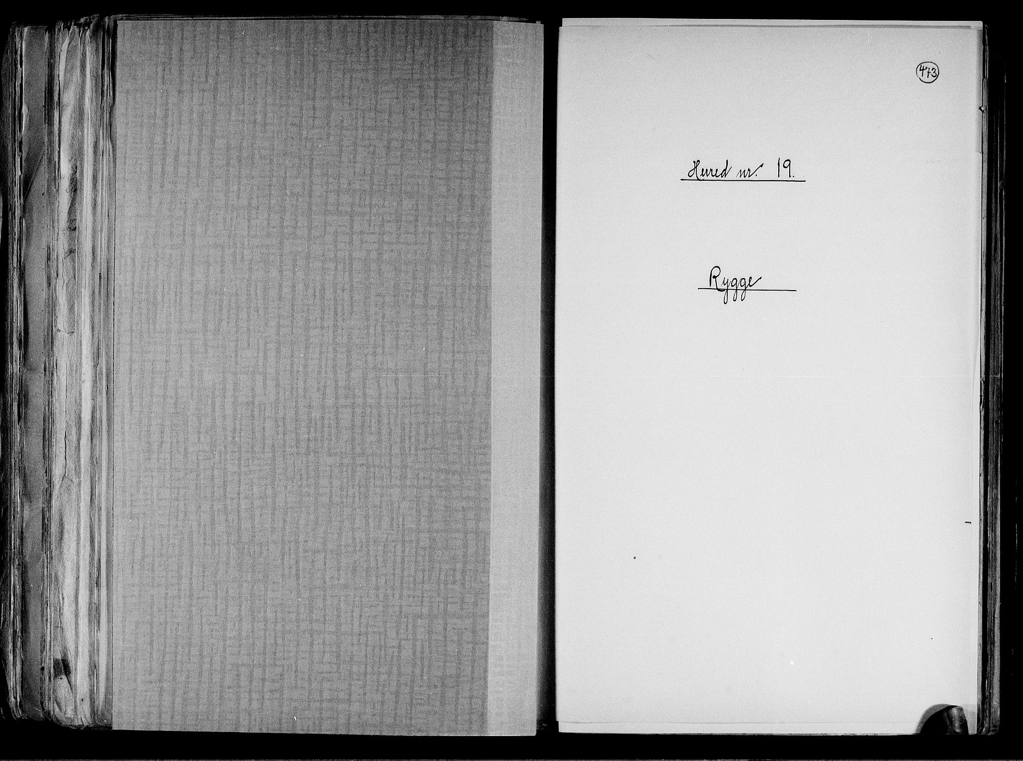 RA, Folketelling 1891 for 0136 Rygge herred, 1891, s. 1