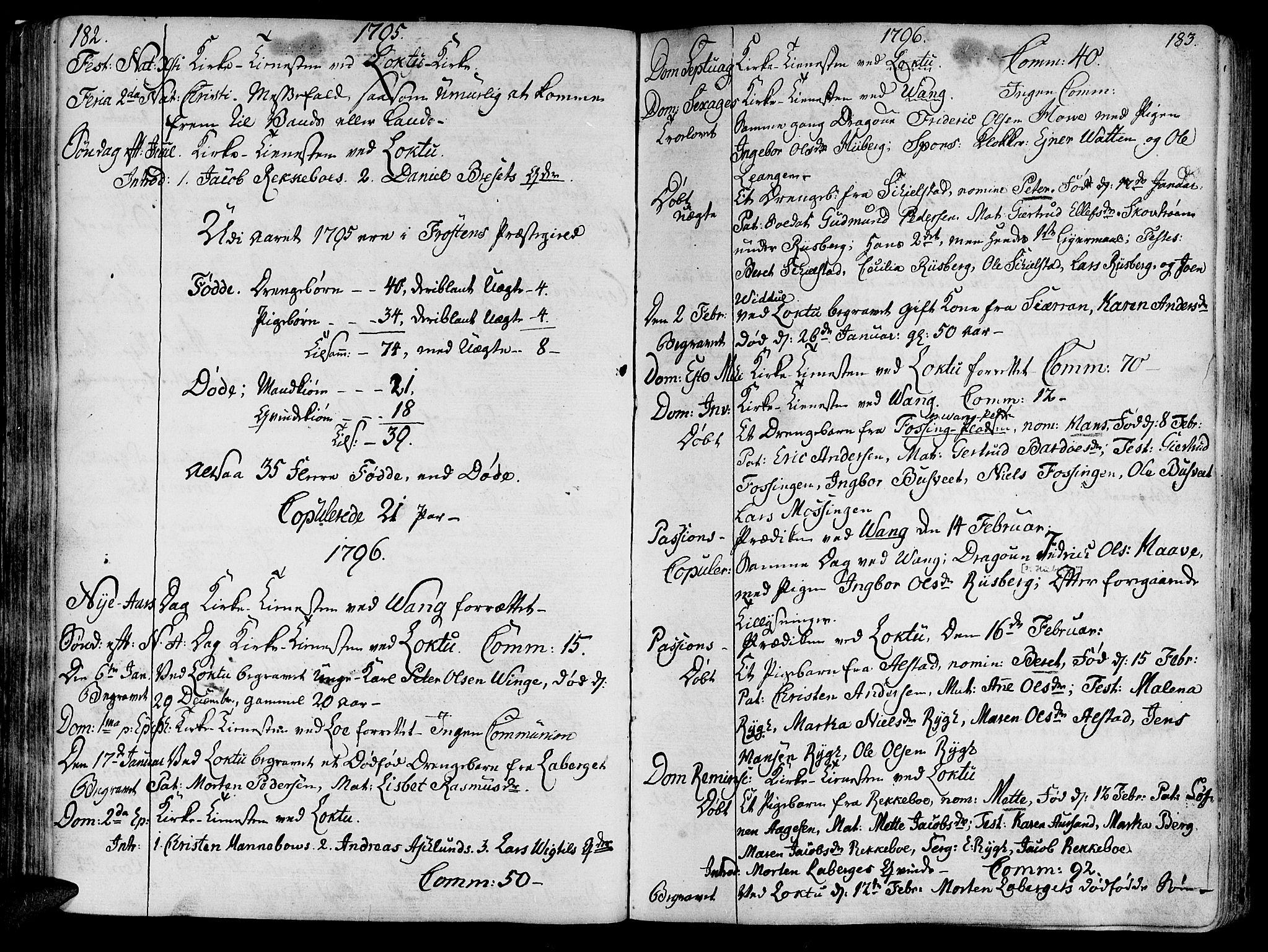 SAT, Ministerialprotokoller, klokkerbøker og fødselsregistre - Nord-Trøndelag, 713/L0110: Ministerialbok nr. 713A02, 1778-1811, s. 182-183