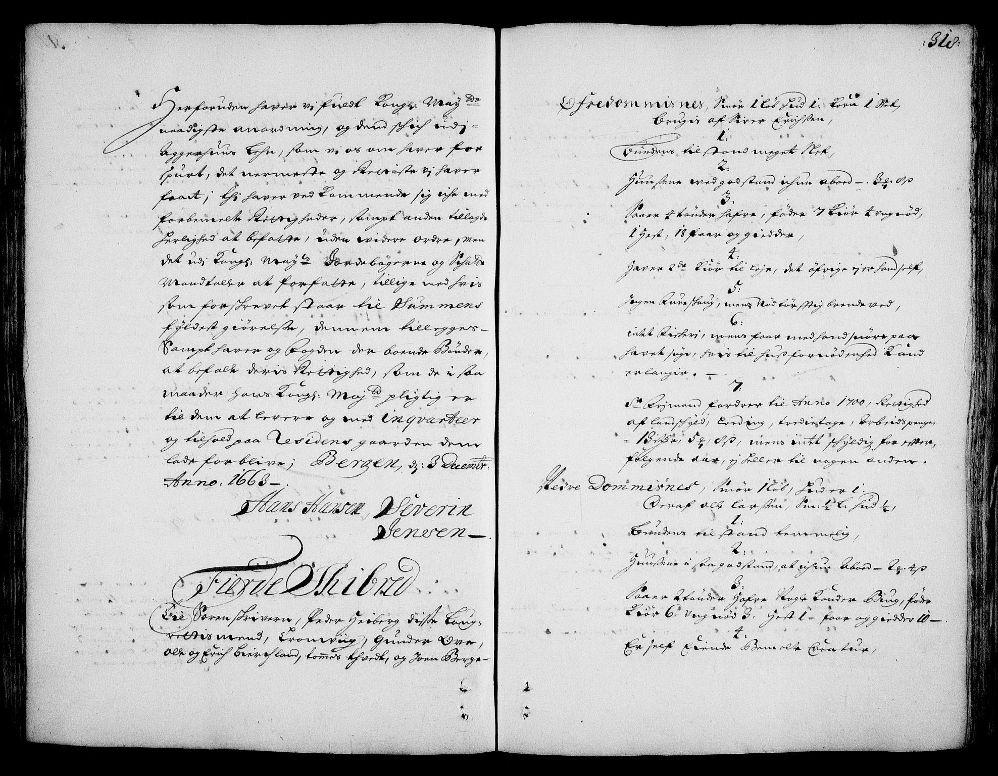 RA, Rentekammeret inntil 1814, Realistisk ordnet avdeling, On/L0002: [Jj 3]: Besiktigelsesforretninger over Halsnøy klosters gods, 1659-1703, s. 317b-318a