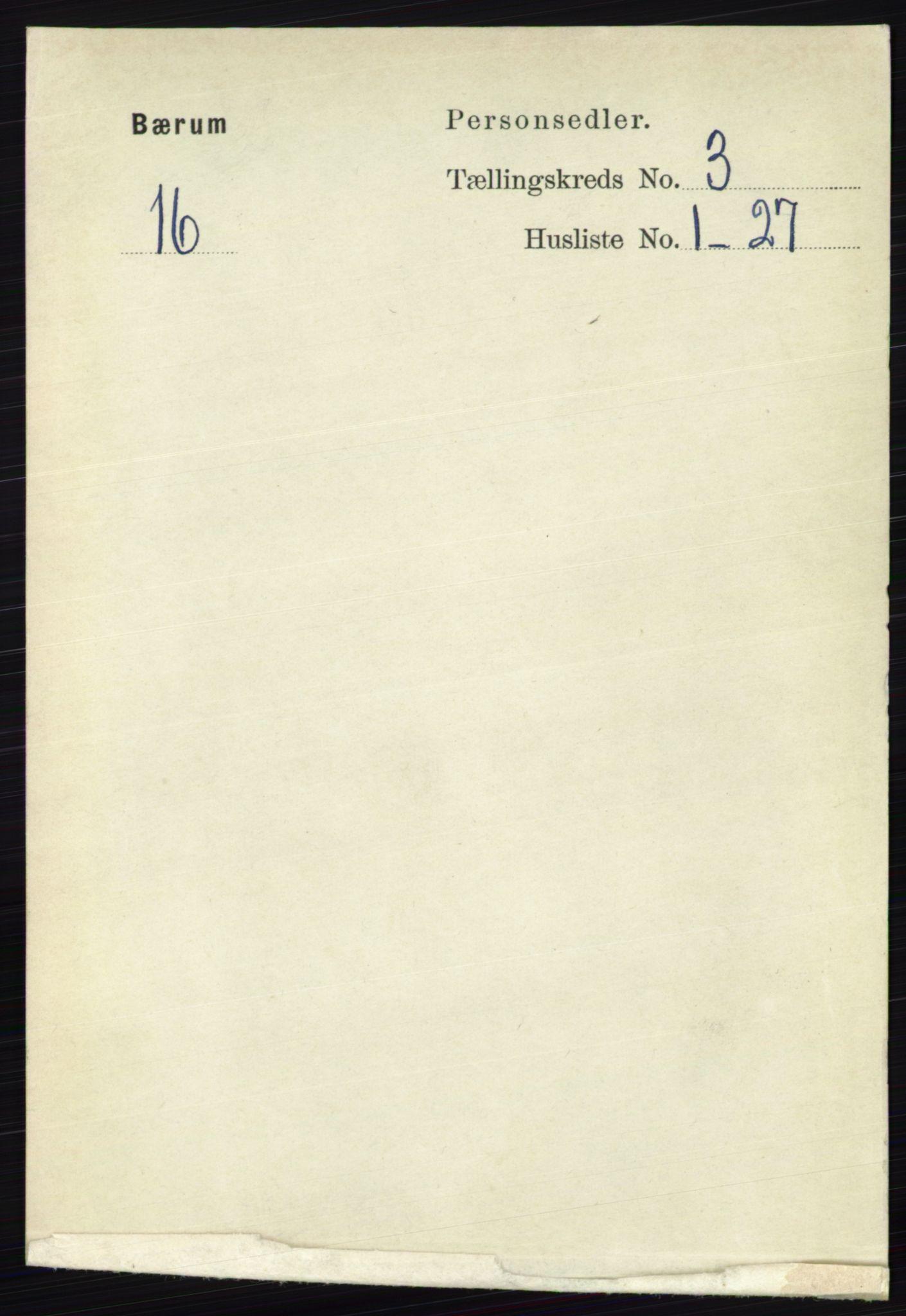 RA, Folketelling 1891 for 0219 Bærum herred, 1891, s. 1982