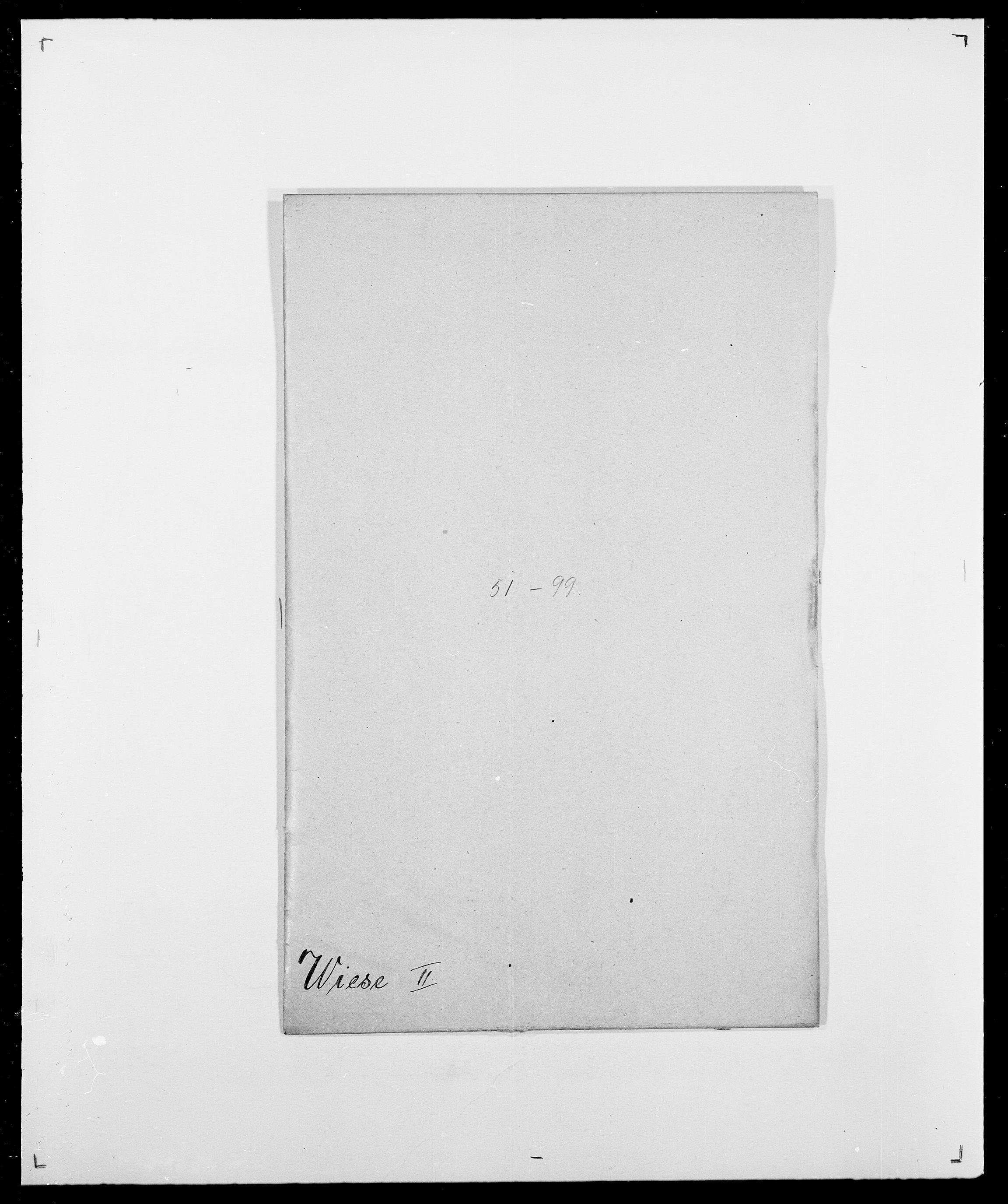 SAO, Delgobe, Charles Antoine - samling, D/Da/L0041: Vemmestad - Viker, s. 575