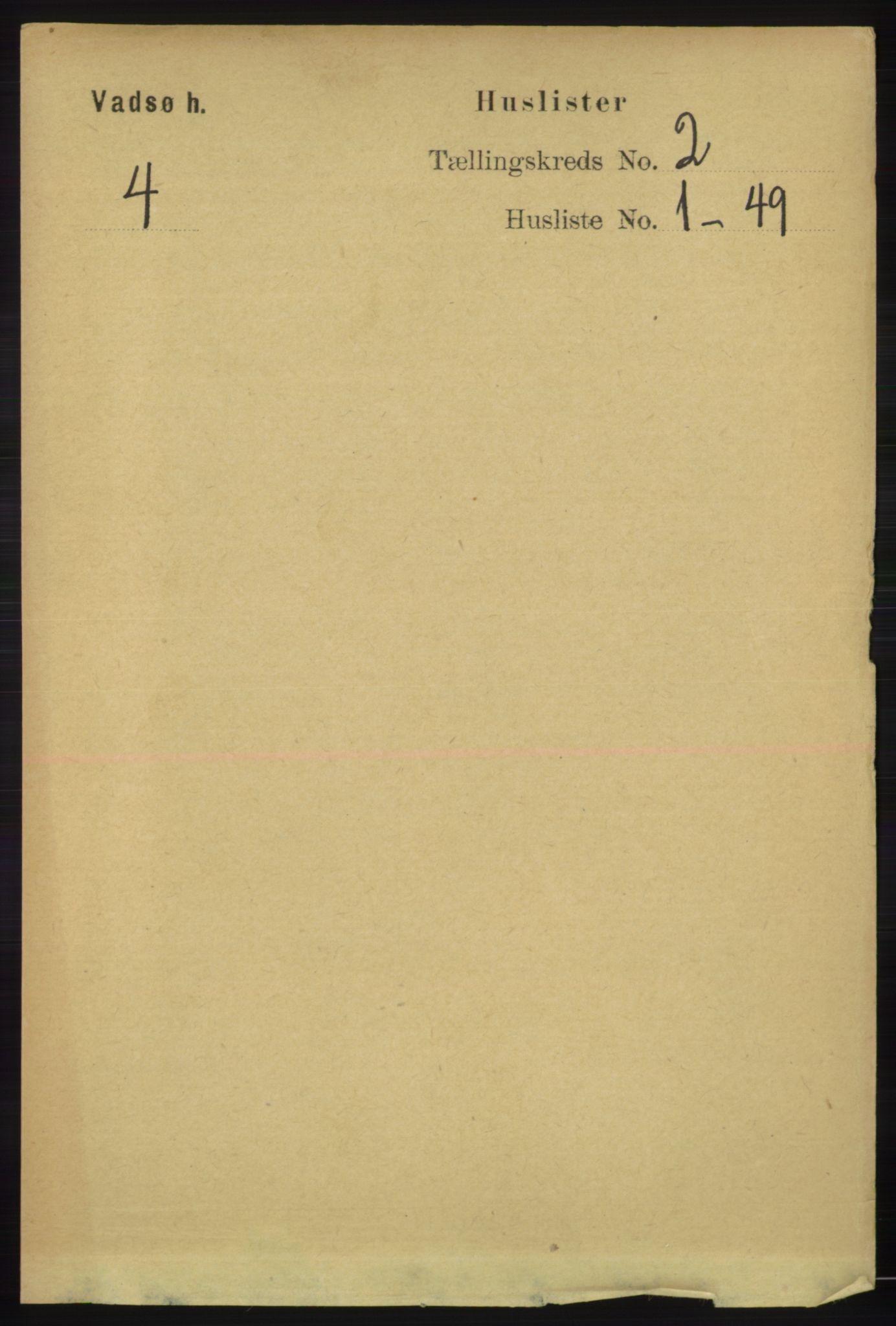 RA, Folketelling 1891 for 2029 Vadsø herred, 1891, s. 403