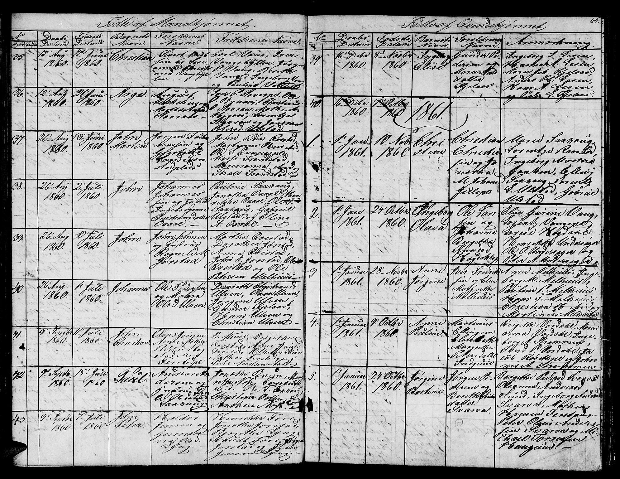 SAT, Ministerialprotokoller, klokkerbøker og fødselsregistre - Nord-Trøndelag, 730/L0299: Klokkerbok nr. 730C02, 1849-1871, s. 64