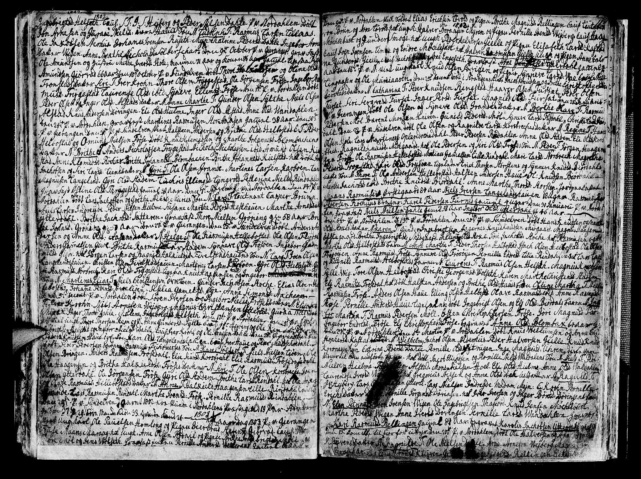 SAT, Ministerialprotokoller, klokkerbøker og fødselsregistre - Møre og Romsdal, 519/L0245: Ministerialbok nr. 519A04, 1774-1816, s. 113
