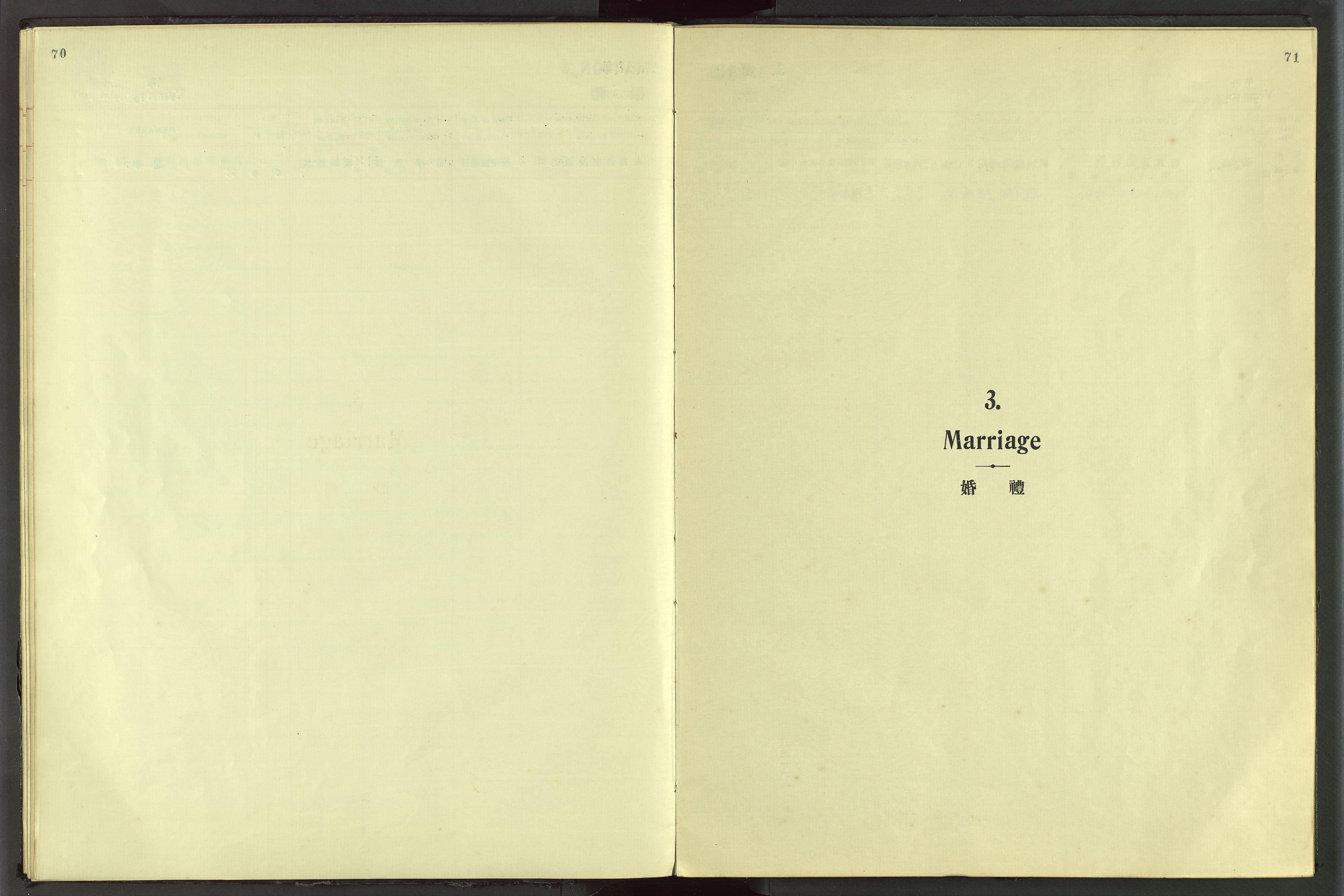 VID, Det Norske Misjonsselskap - utland - Kina (Hunan), Dm/L0056: Ministerialbok nr. 94, 1915-1948, s. 70-71