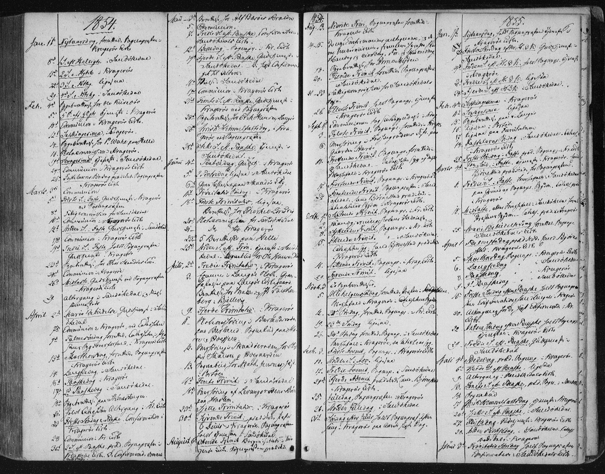 SAKO, Kragerø kirkebøker, F/Fa/L0006: Ministerialbok nr. 6, 1847-1861, s. 6