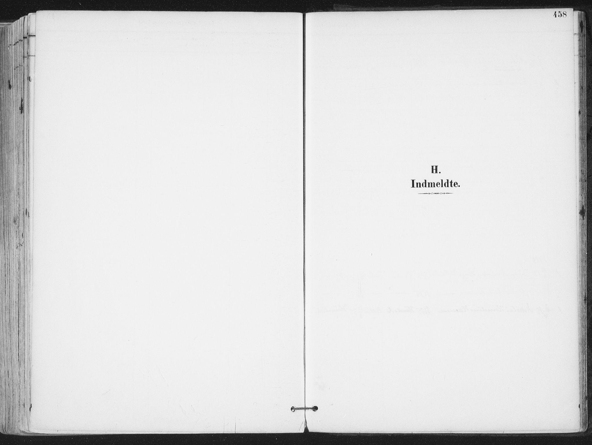SAT, Ministerialprotokoller, klokkerbøker og fødselsregistre - Nordland, 802/L0055: Ministerialbok nr. 802A02, 1894-1915, s. 458