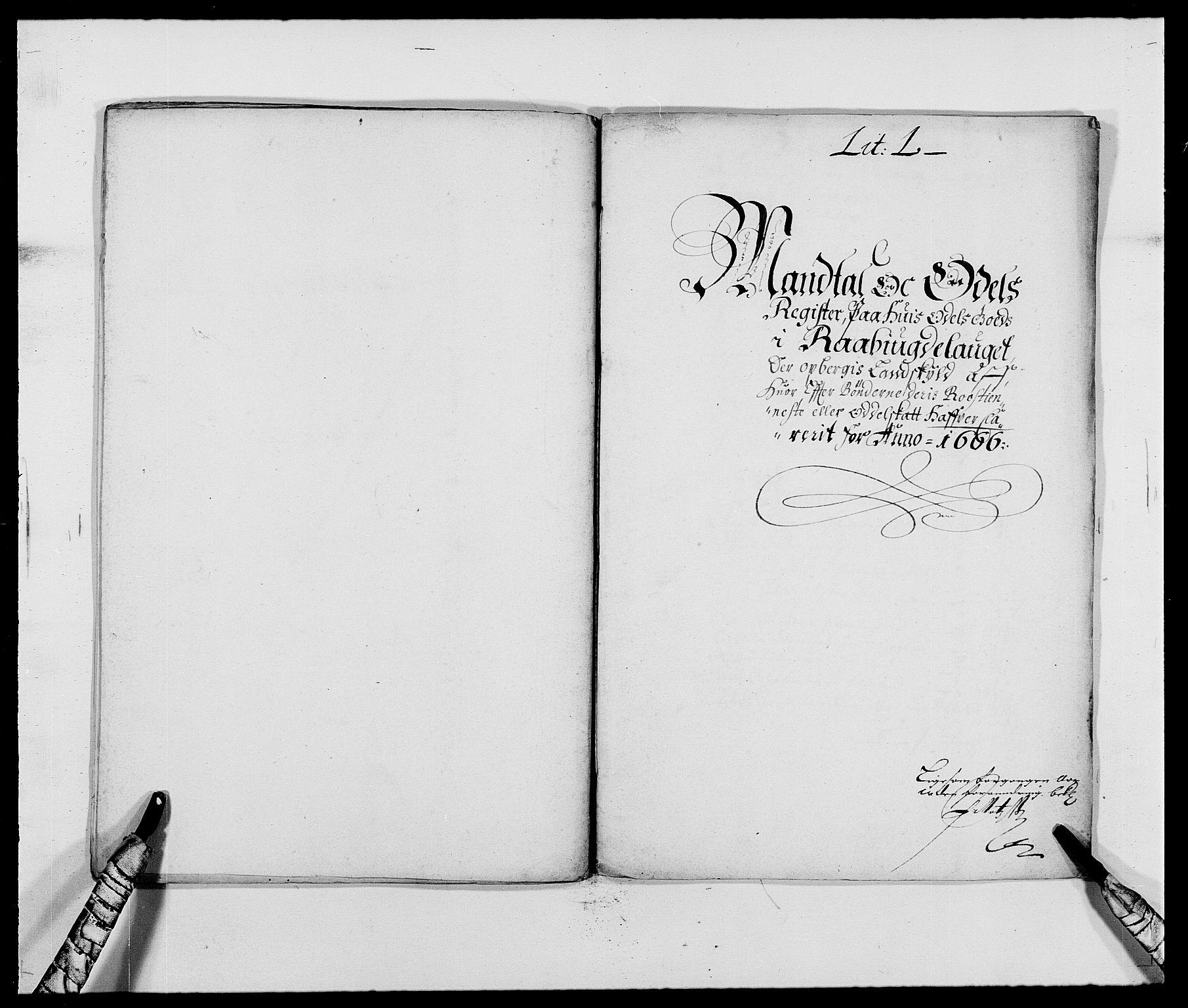 RA, Rentekammeret inntil 1814, Reviderte regnskaper, Fogderegnskap, R40/L2431: Fogderegnskap Råbyggelag, 1664-1668, s. 267