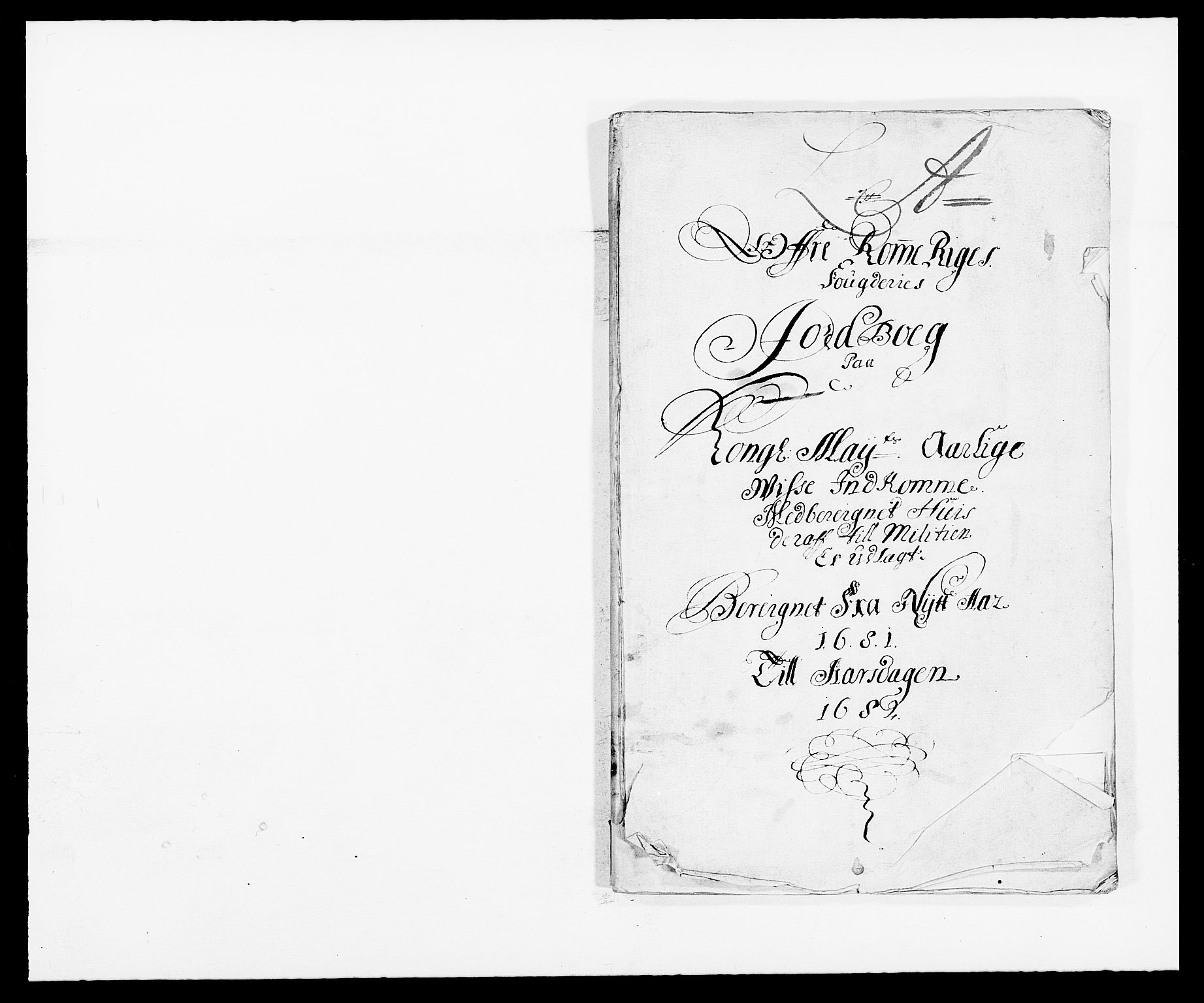 RA, Rentekammeret inntil 1814, Reviderte regnskaper, Fogderegnskap, R12/L0696: Fogderegnskap Øvre Romerike, 1681, s. 10