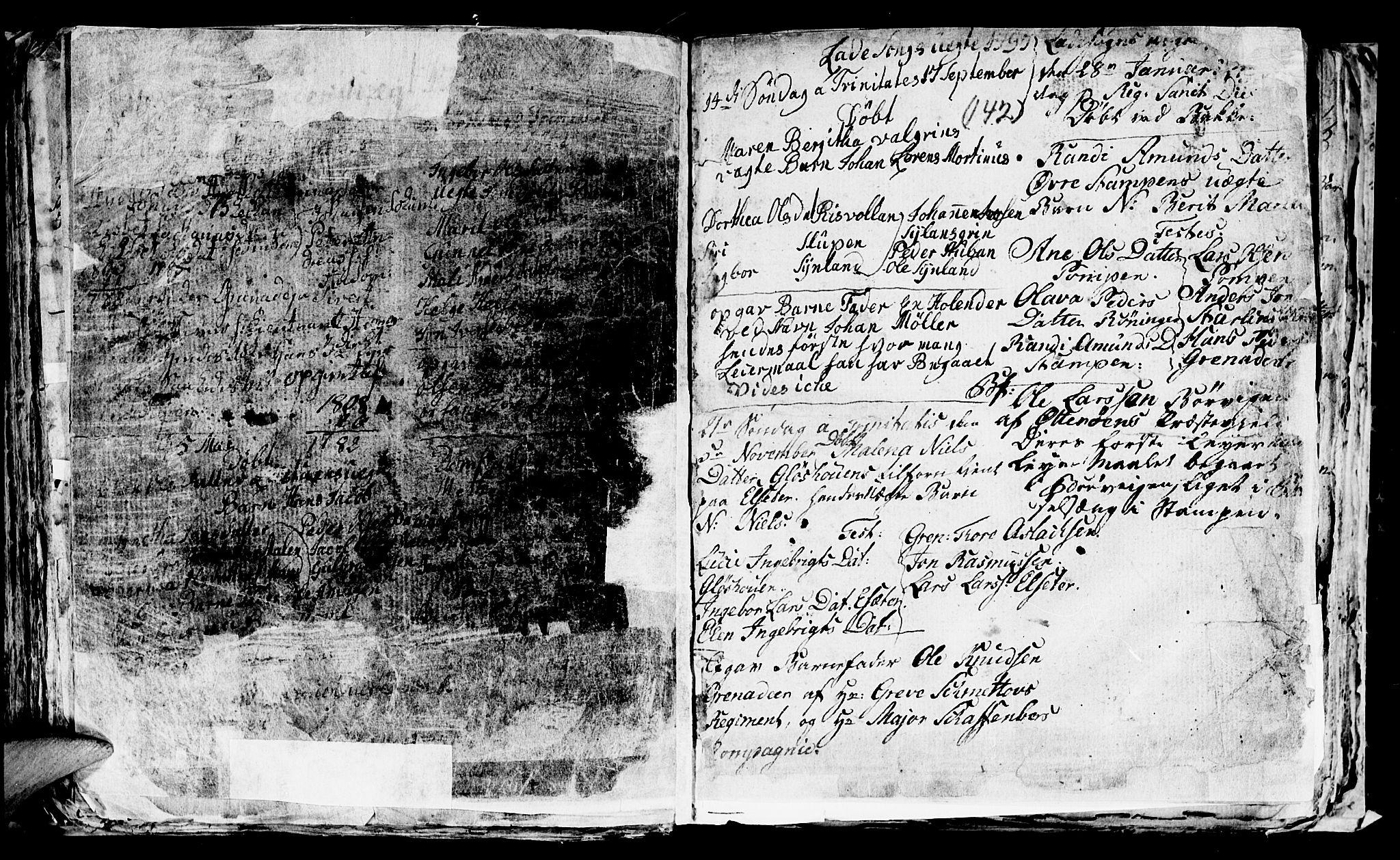 SAT, Ministerialprotokoller, klokkerbøker og fødselsregistre - Sør-Trøndelag, 606/L0305: Klokkerbok nr. 606C01, 1757-1819, s. 142
